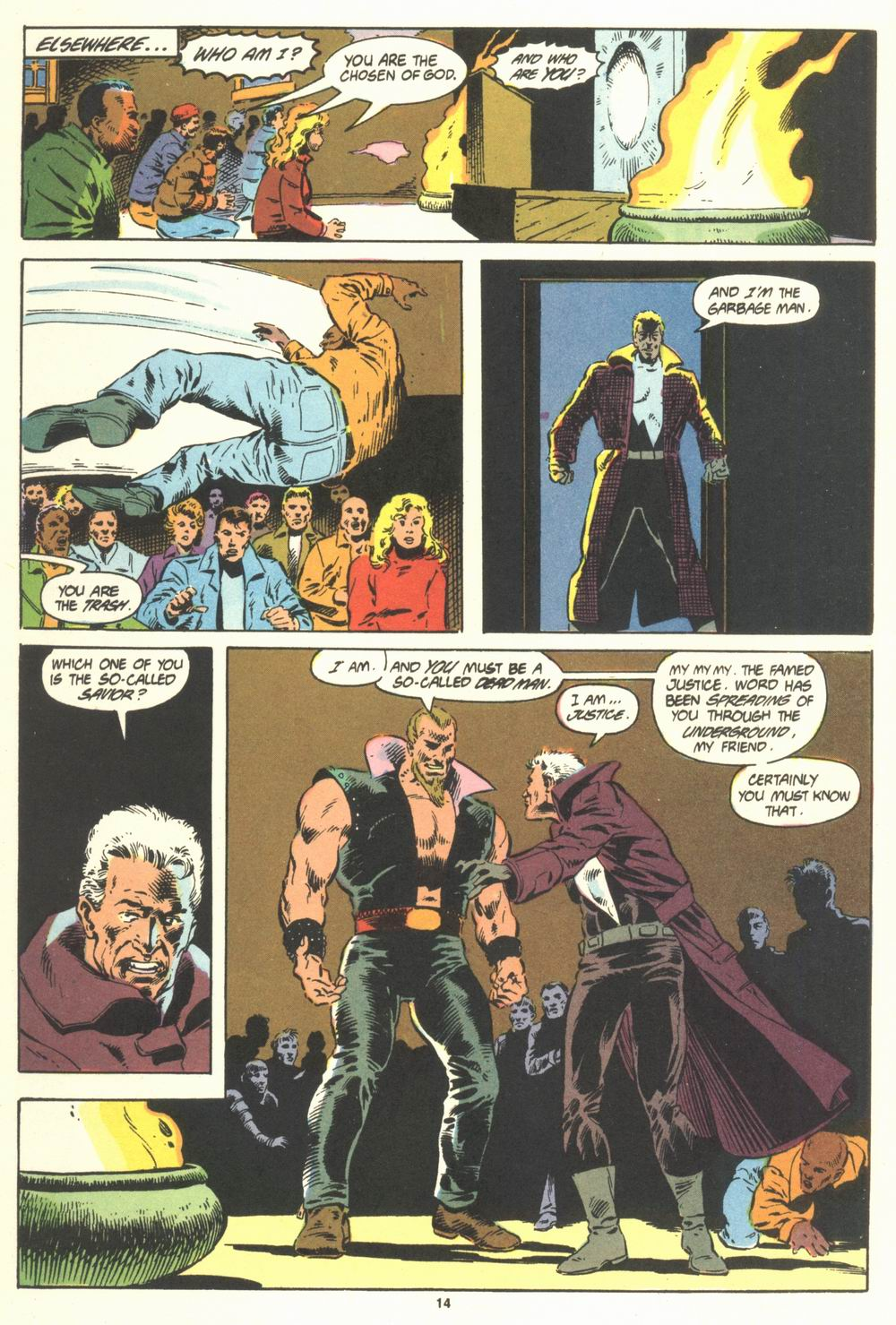 Read online Justice (1986) comic -  Issue #19 - 16