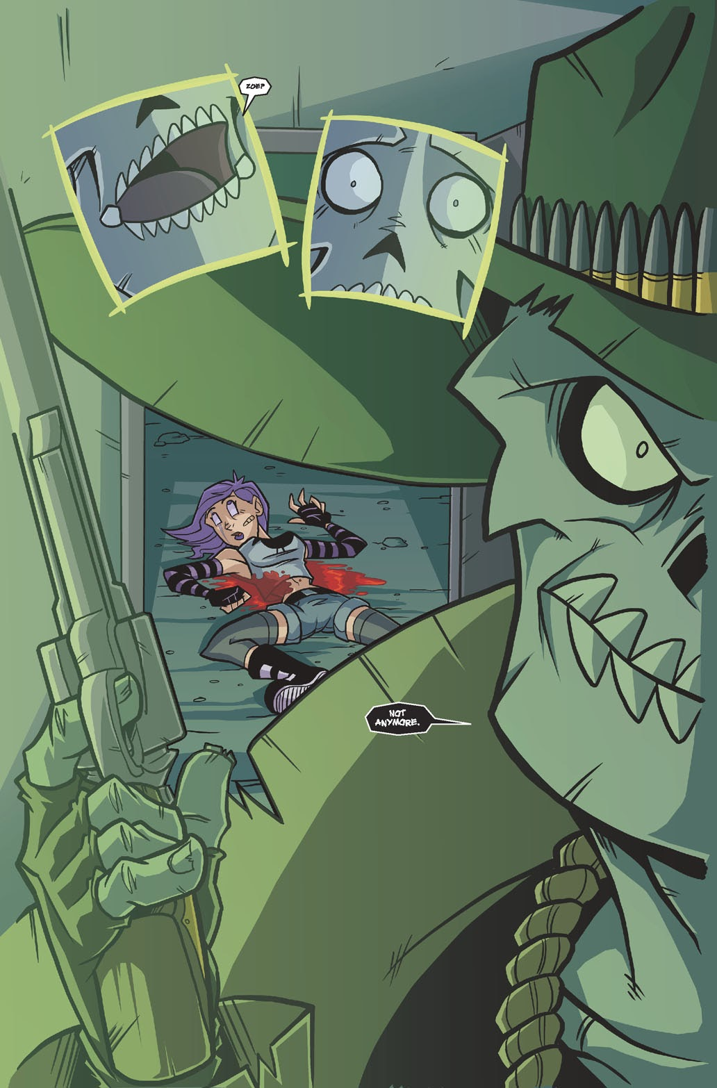 Read online Xombie Reanimated comic -  Issue #4 - 24