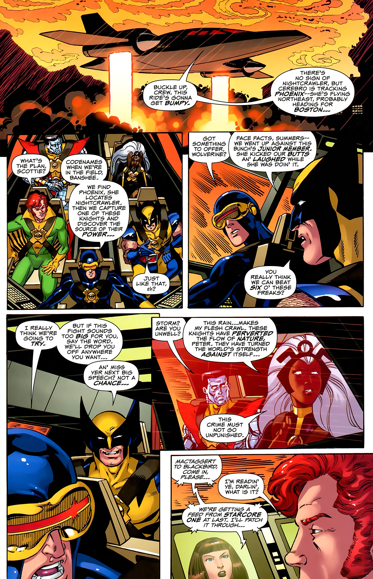 Read online Uncanny X-Men: First Class comic -  Issue #6 - 16
