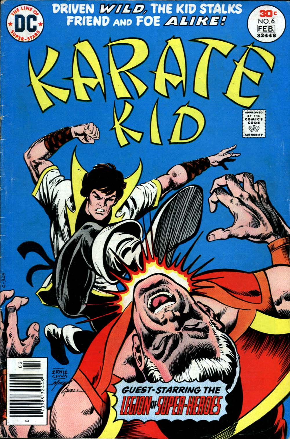 Karate Kid issue 6 - Page 1