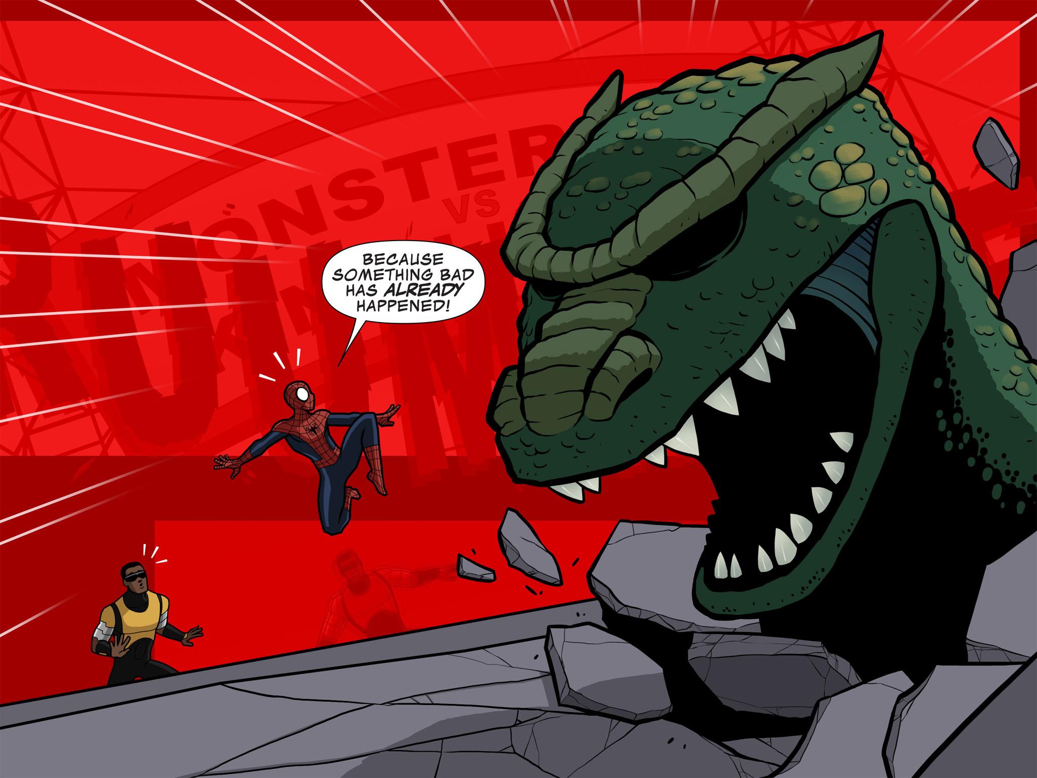 Read online Ultimate Spider-Man (Infinite Comics) (2015) comic -  Issue #10 - 40