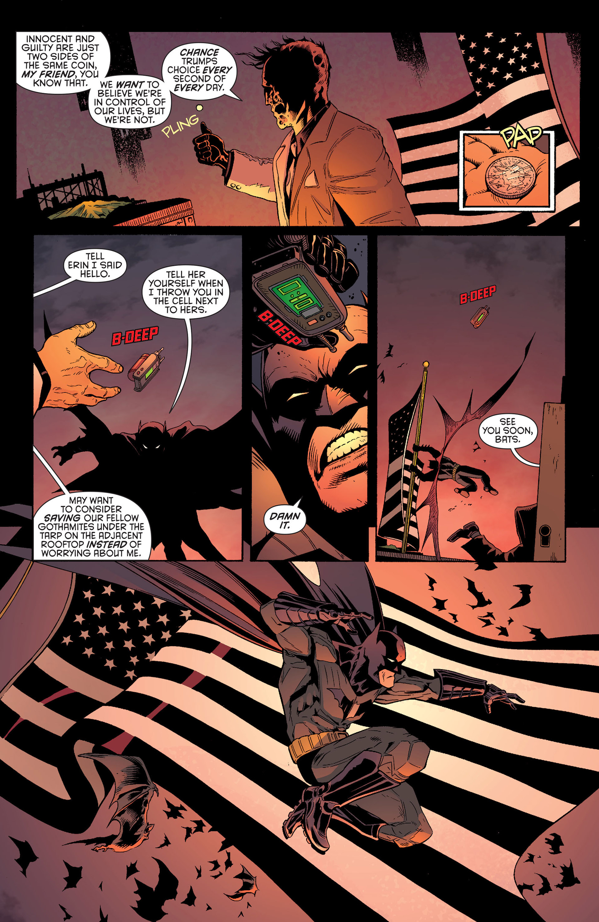Read online Batman and Robin (2011) comic -  Issue #25 - Batman and Two-Face - 5