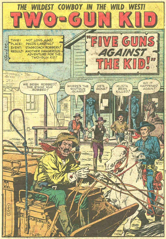 Read online Two-Gun Kid comic -  Issue #51 - 3