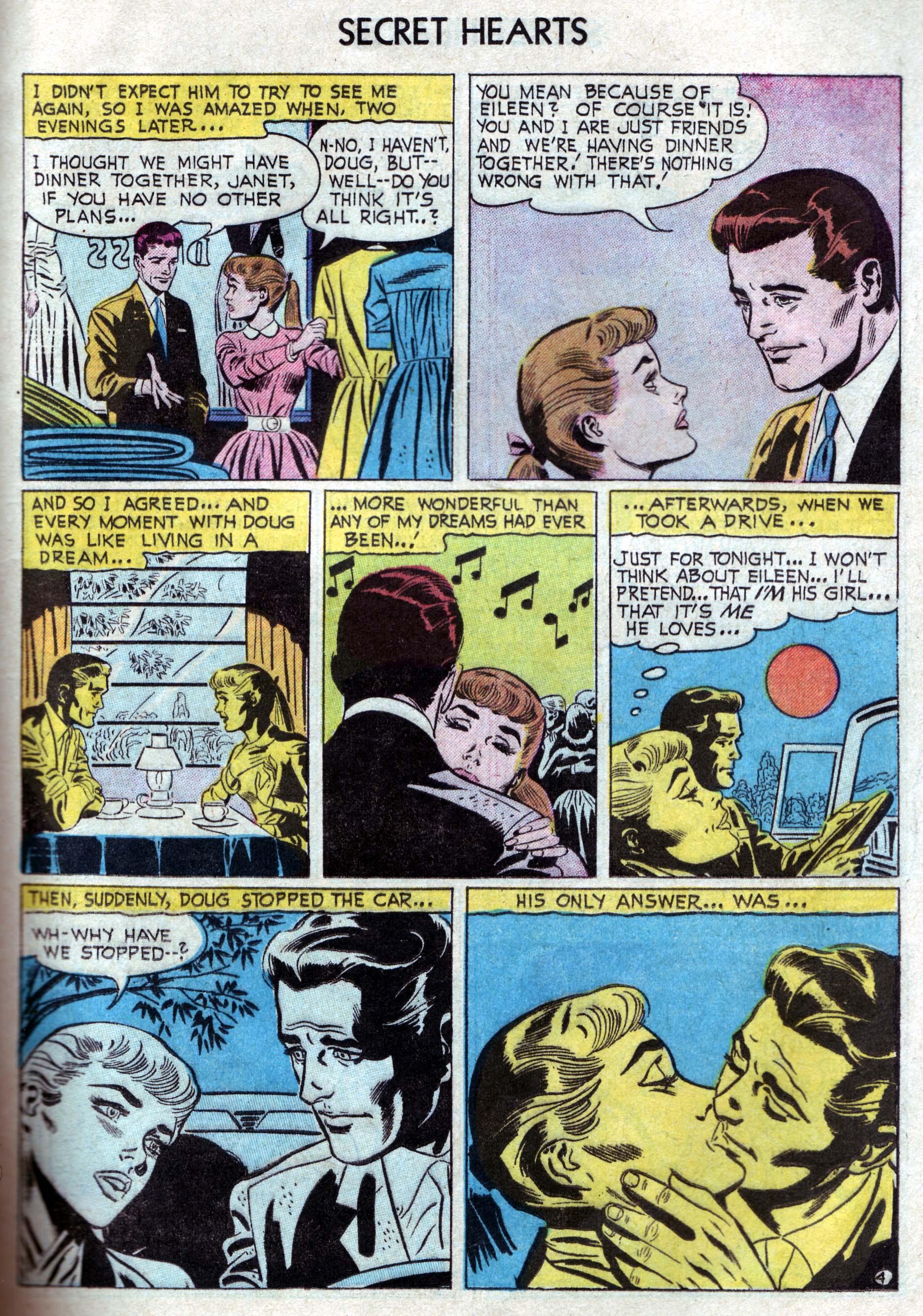 Read online Secret Hearts comic -  Issue #33 - 13
