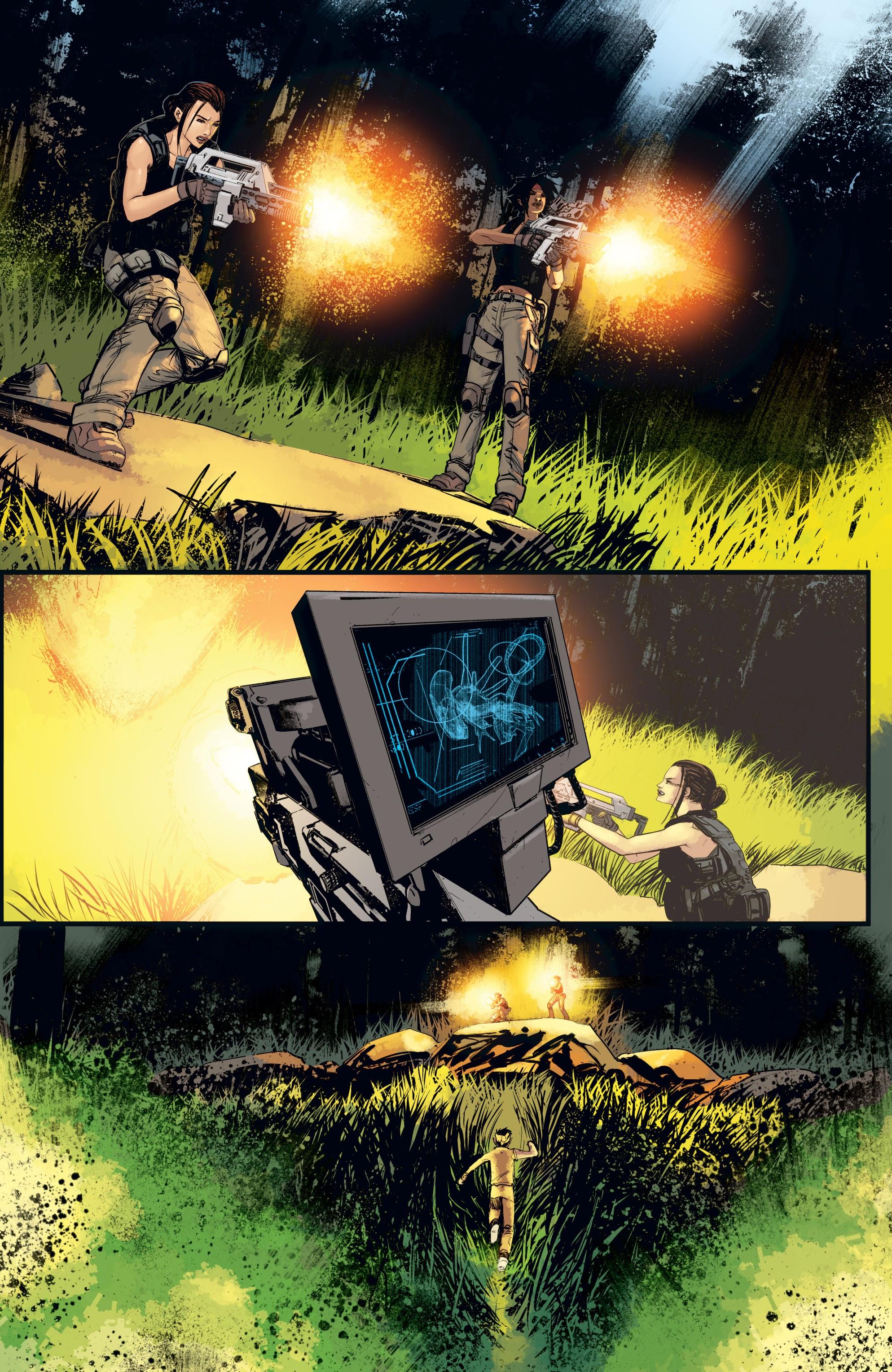 Read online Aliens: Resistance comic -  Issue # _TPB - 61