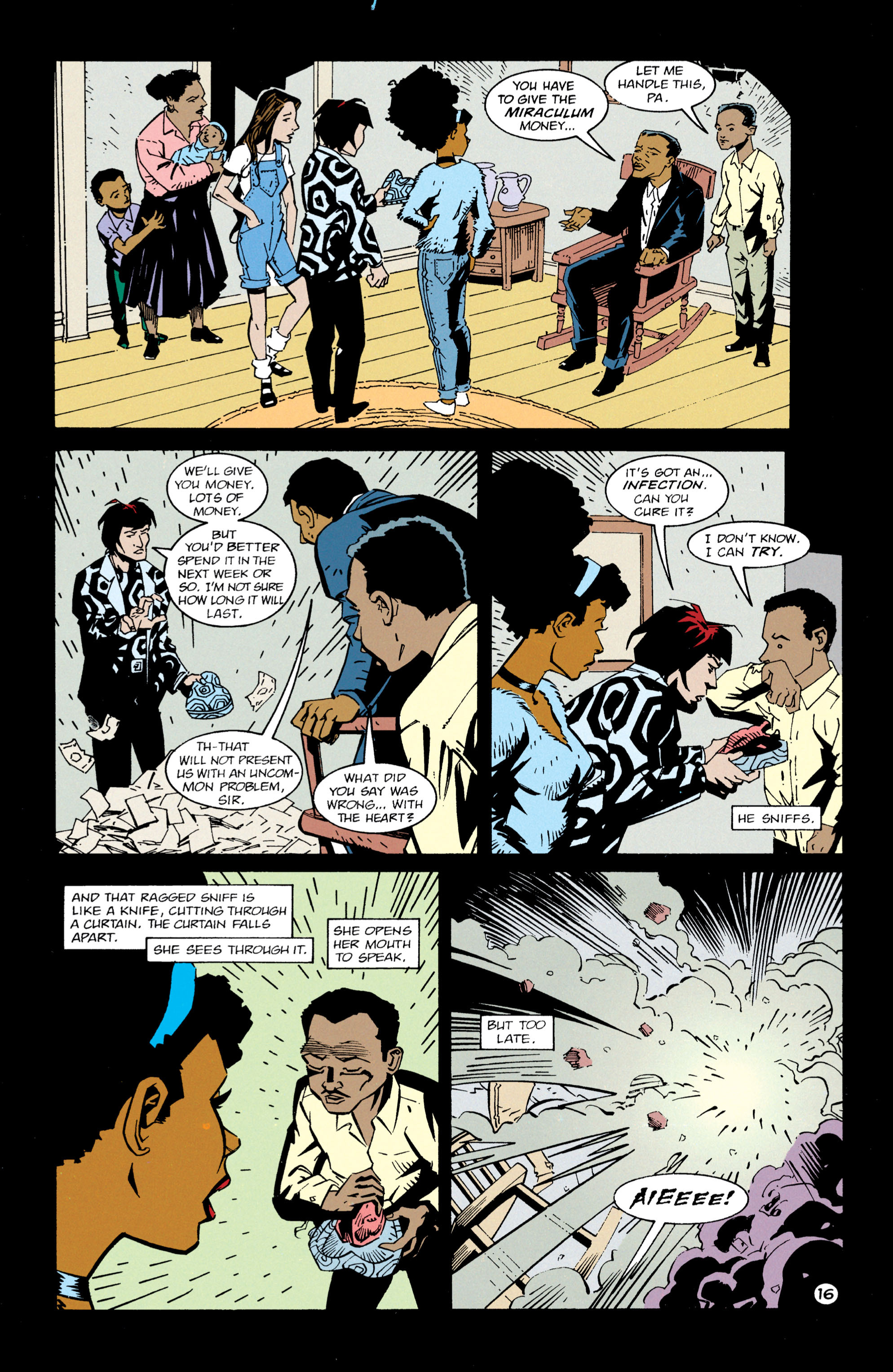 Read online Shade, the Changing Man comic -  Issue #63 - 17