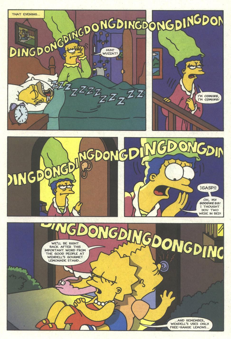 Read online Simpsons Comics comic -  Issue #17 - 12
