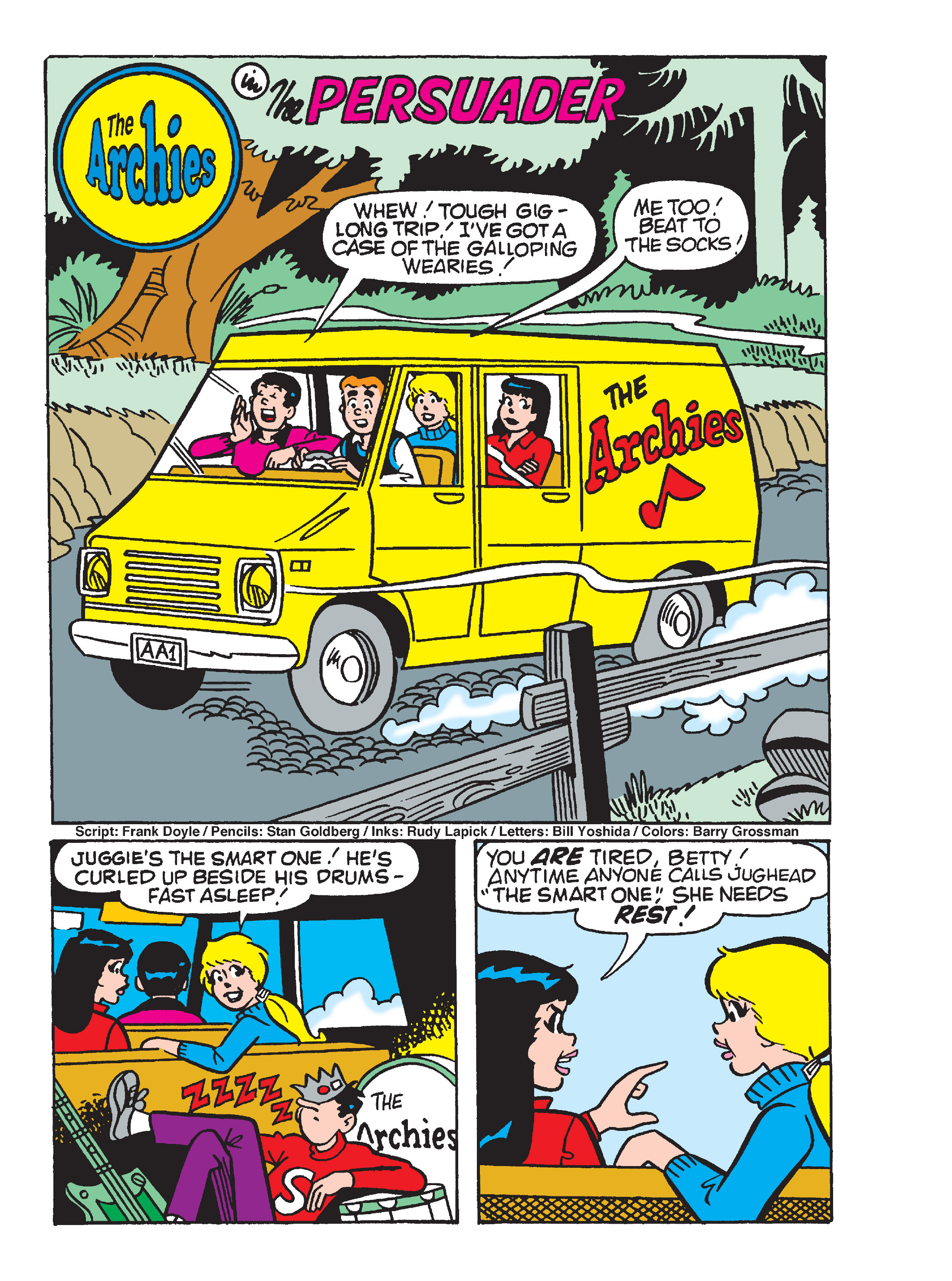 Read online Archie's Funhouse Double Digest comic -  Issue #17 - 19
