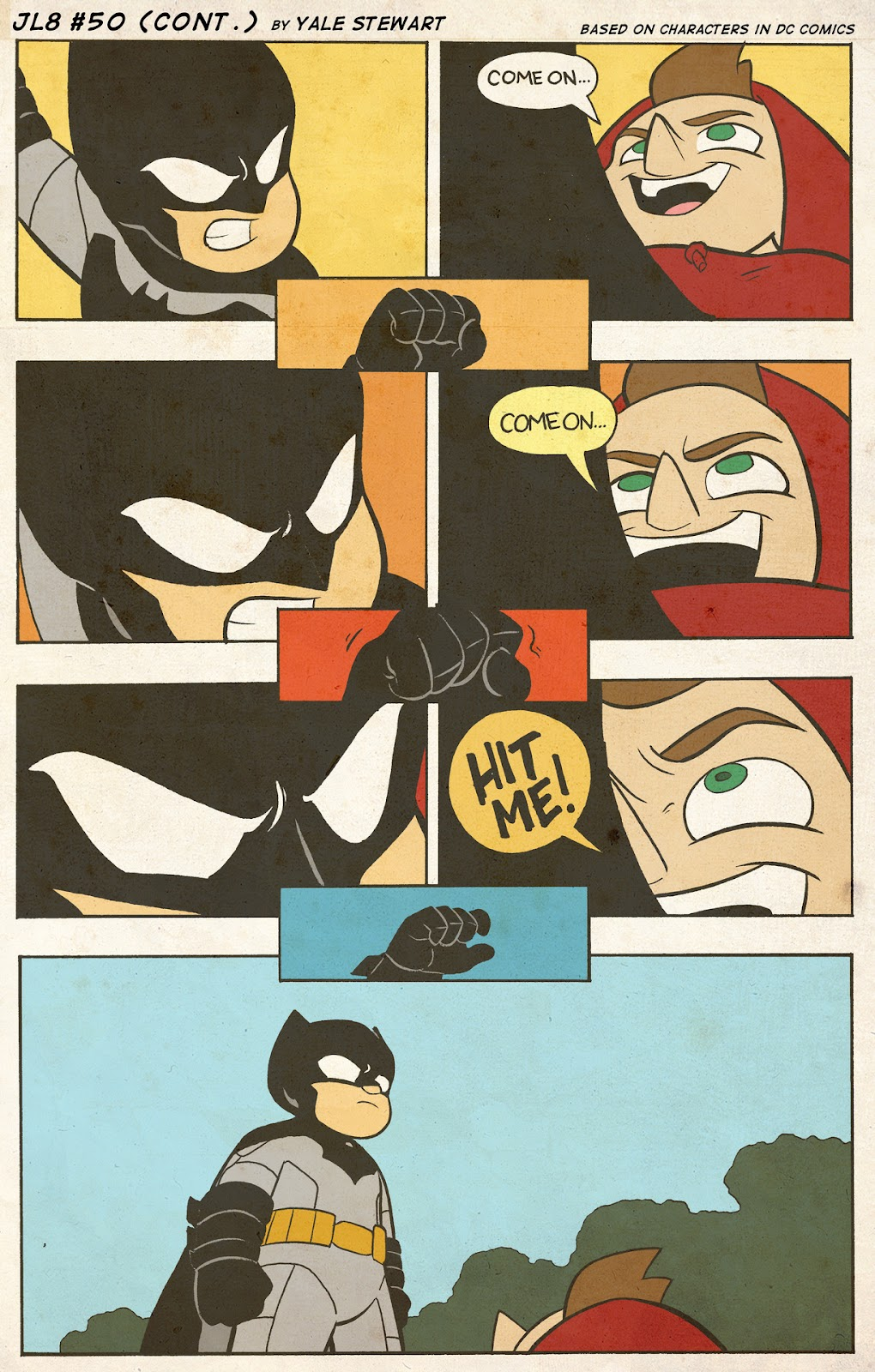 Read online JL8 – The Complete Collection comic -  Issue # TPB (Part 1) - 26