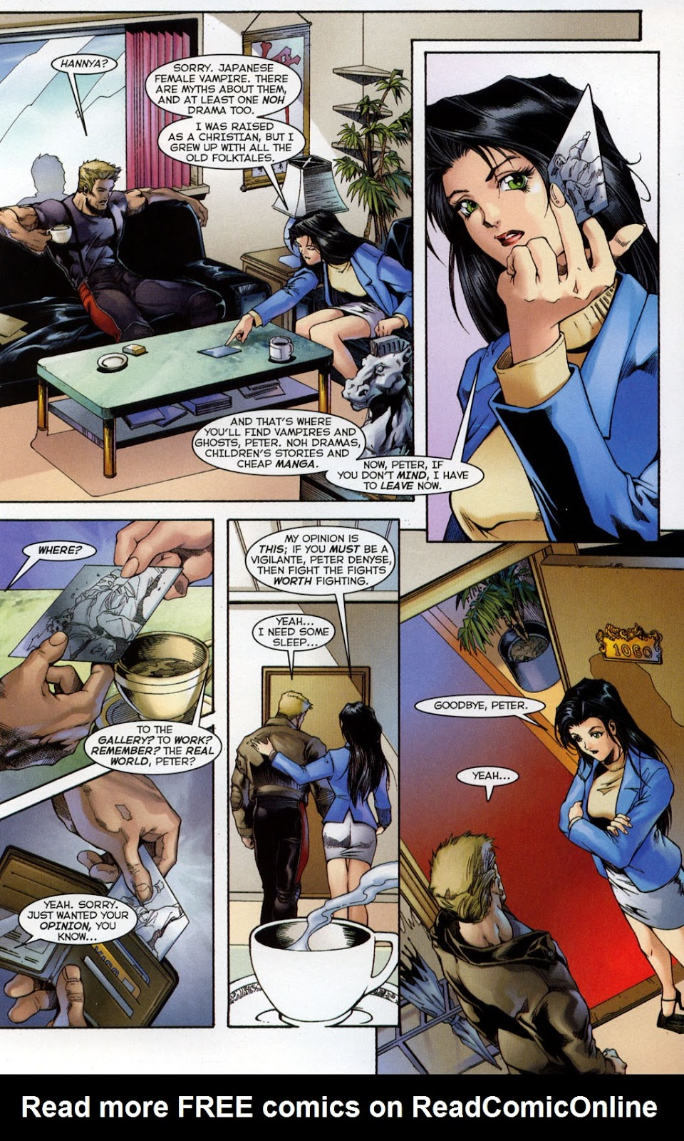 Shi/Vampirella issue Full - Page 4