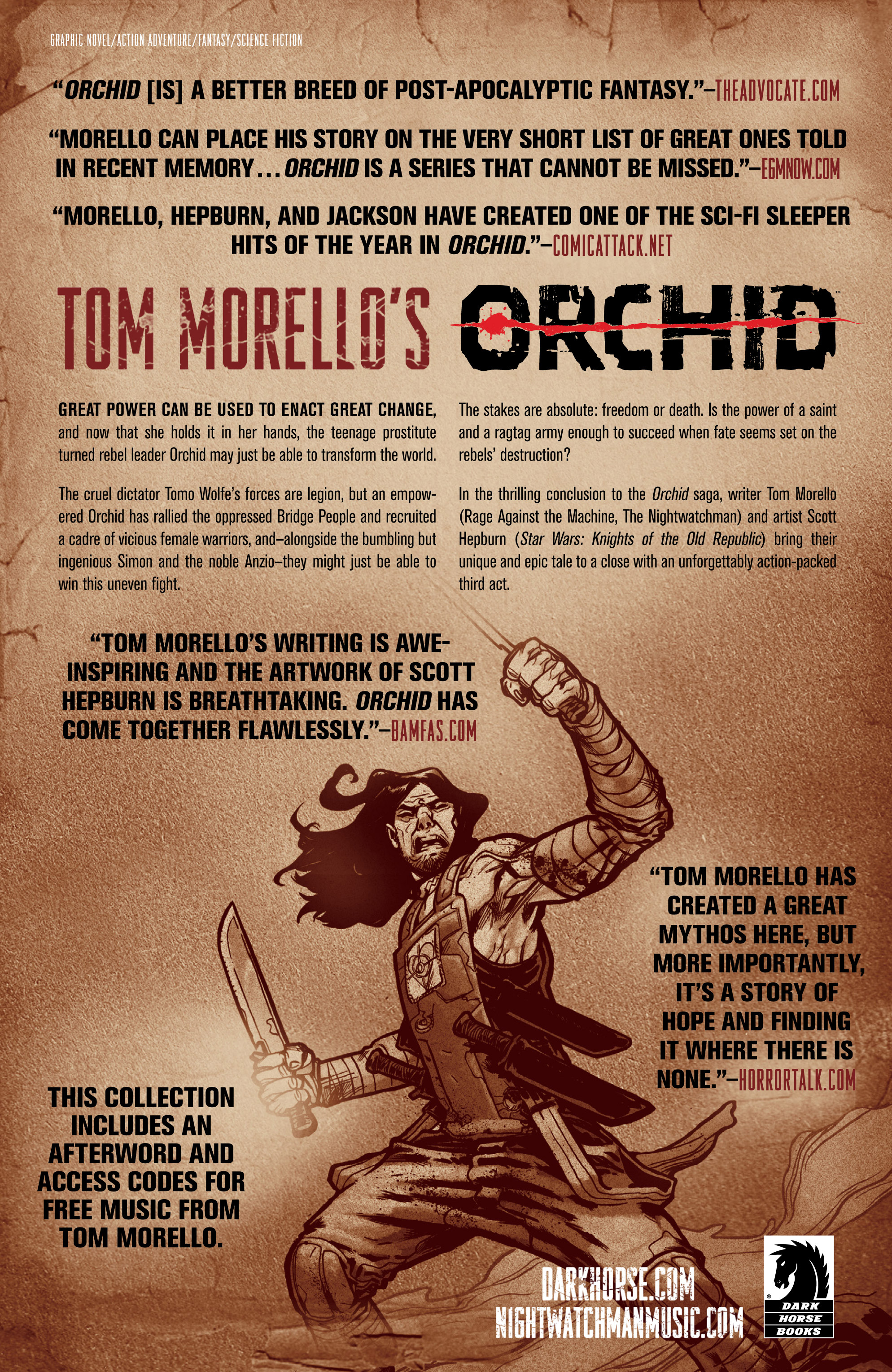 Read online Orchid comic -  Issue # TPB 3 - 110