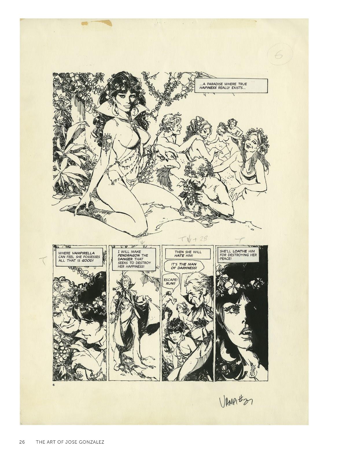 Read online The Art of Jose Gonzalez comic -  Issue # TPB (Part 1) - 27