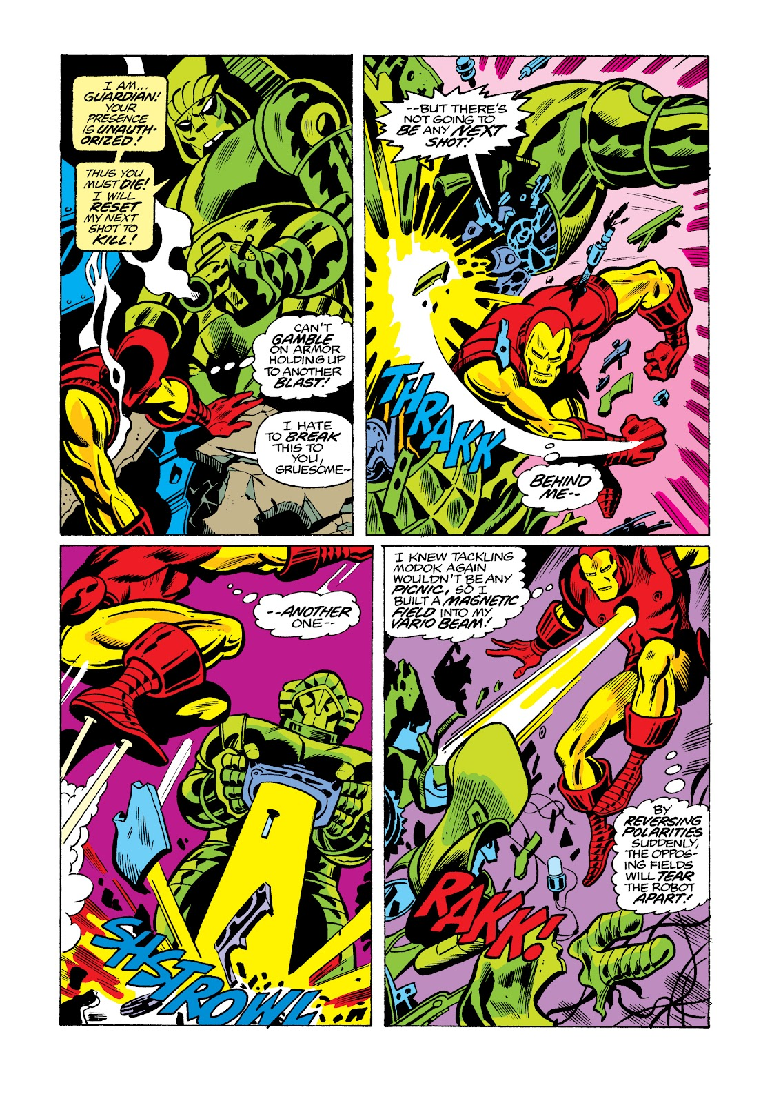 Read online Marvel Masterworks: The Invincible Iron Man comic -  Issue # TPB 11 (Part 3) - 88