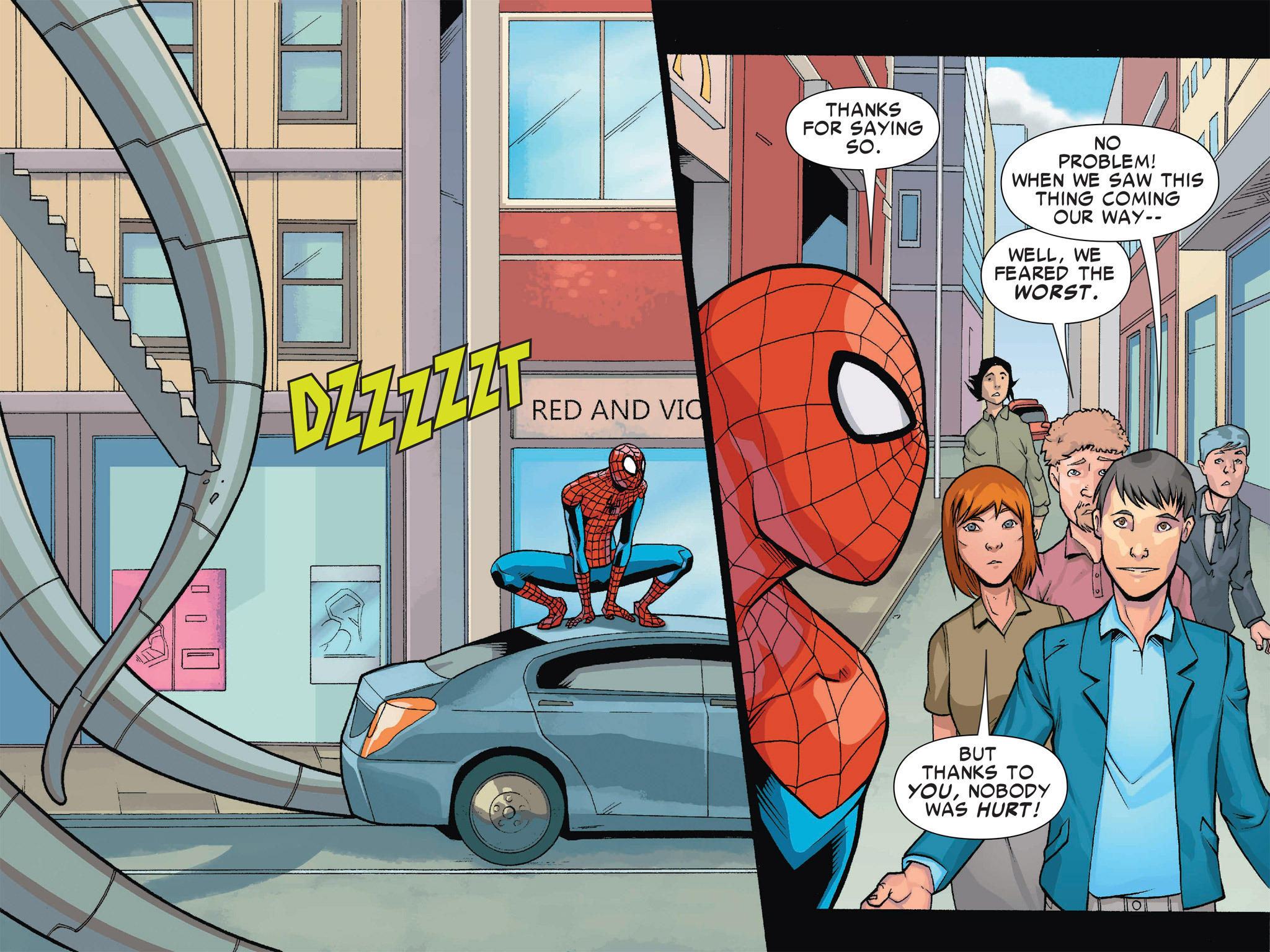Read online Ultimate Spider-Man (Infinite Comics) (2016) comic -  Issue #1 - 49