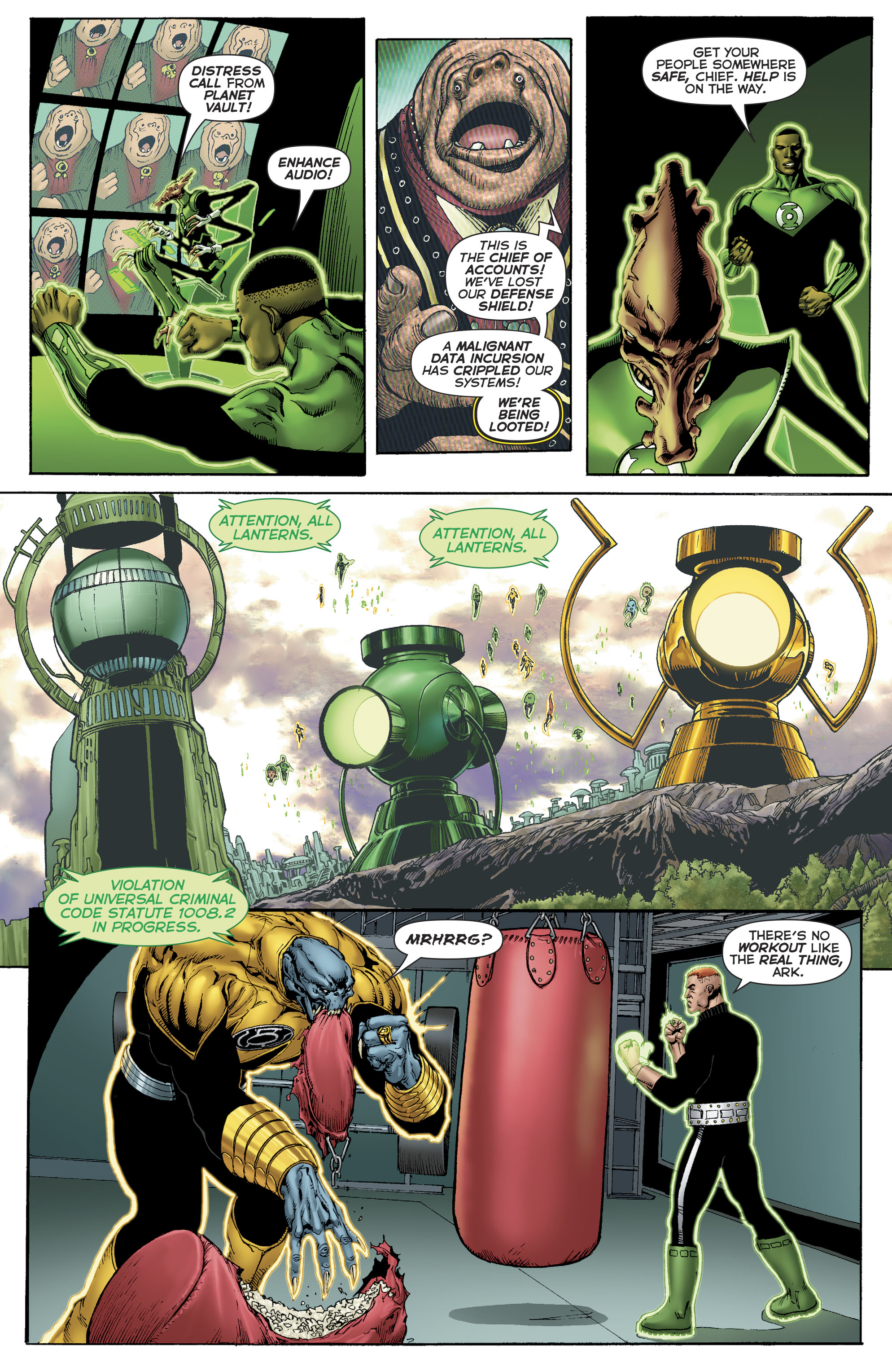 Read online Hal Jordan And The Green Lantern Corps comic -  Issue #22 - 7