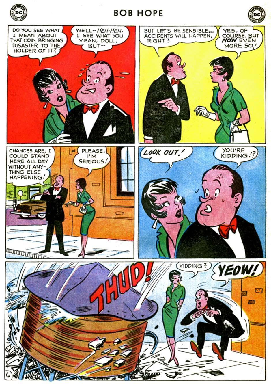 The Adventures of Bob Hope issue 71 - Page 8