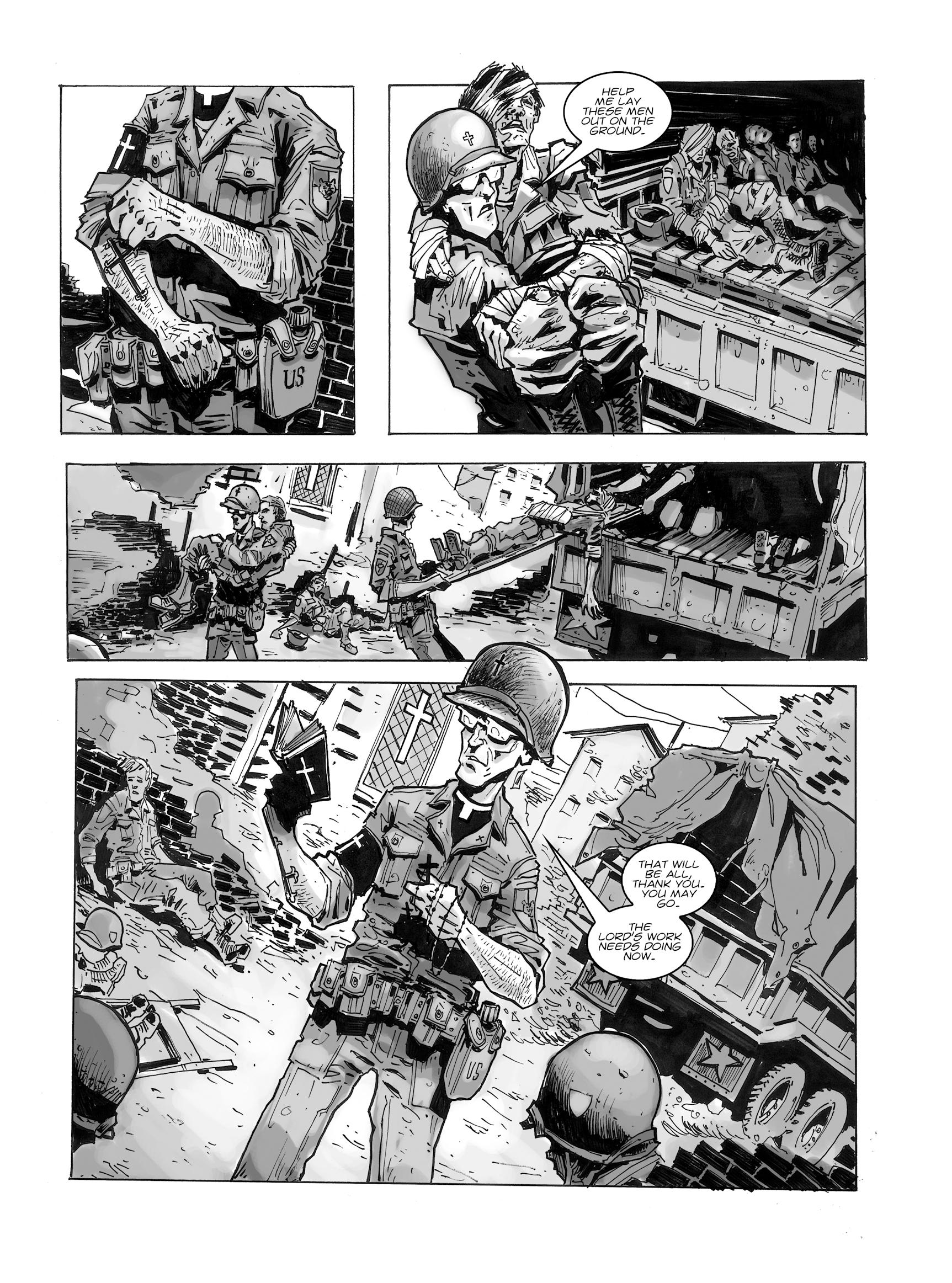 Read online FUBAR comic -  Issue #1 - 25