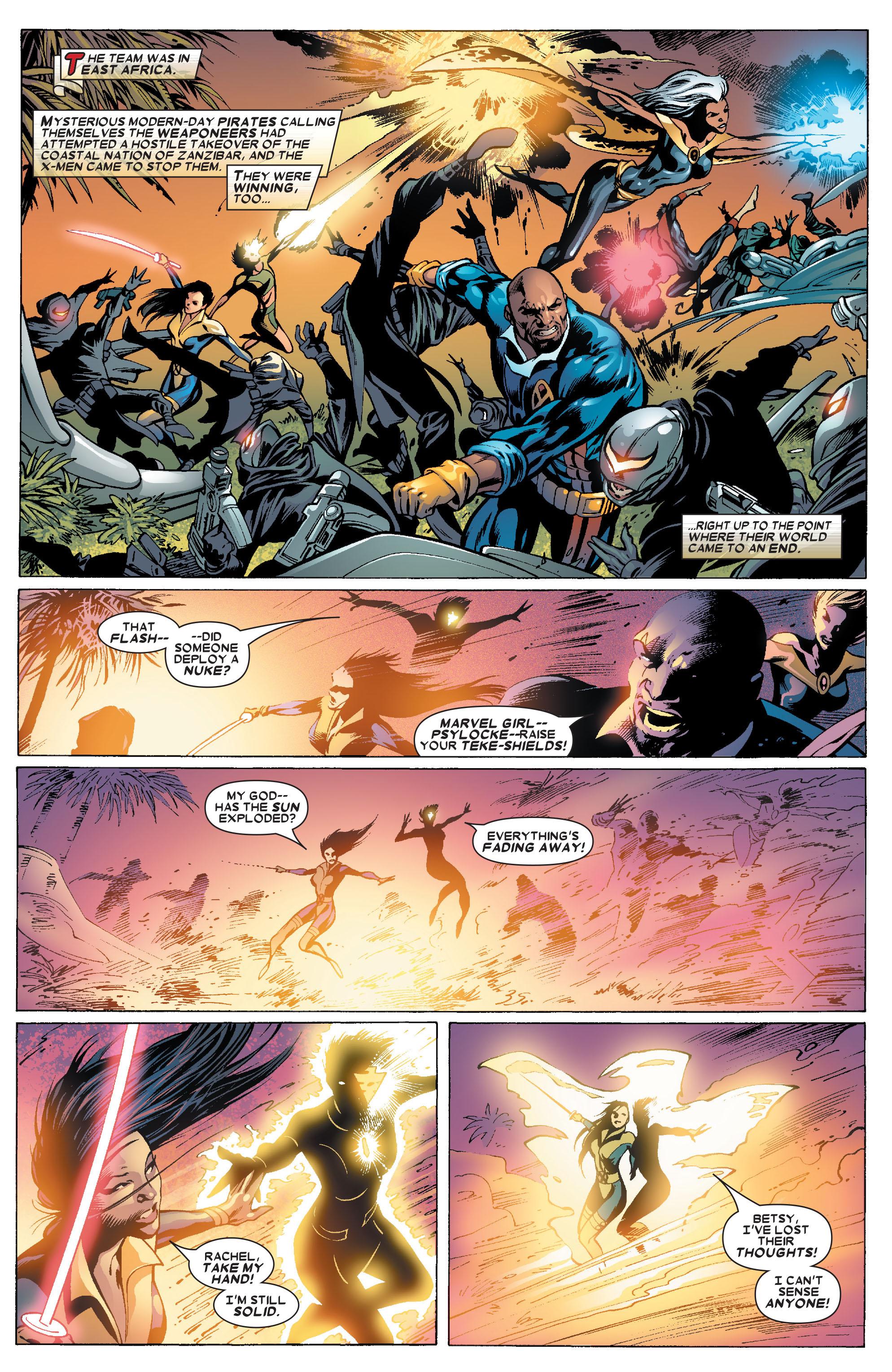 Read online Uncanny X-Men (1963) comic -  Issue #462 - 2