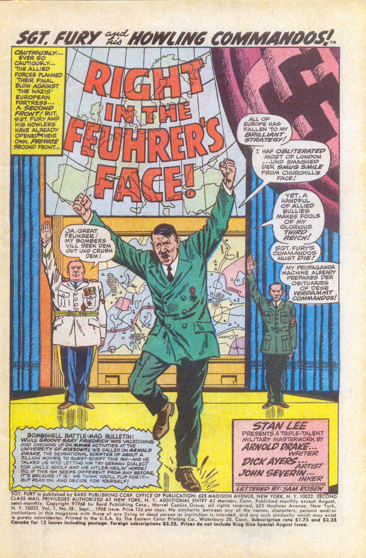 Read online Sgt. Fury comic -  Issue #58 - 3