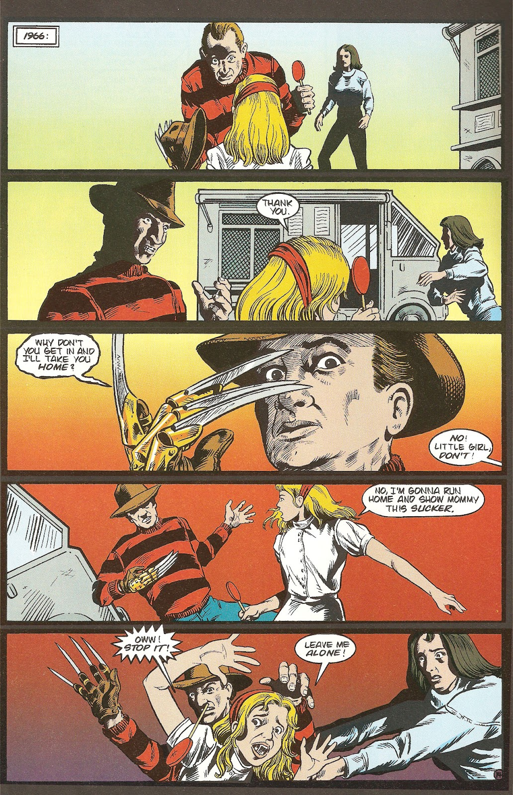 Read online A Nightmare on Elm Street: The Beginning comic -  Issue #1 - 16