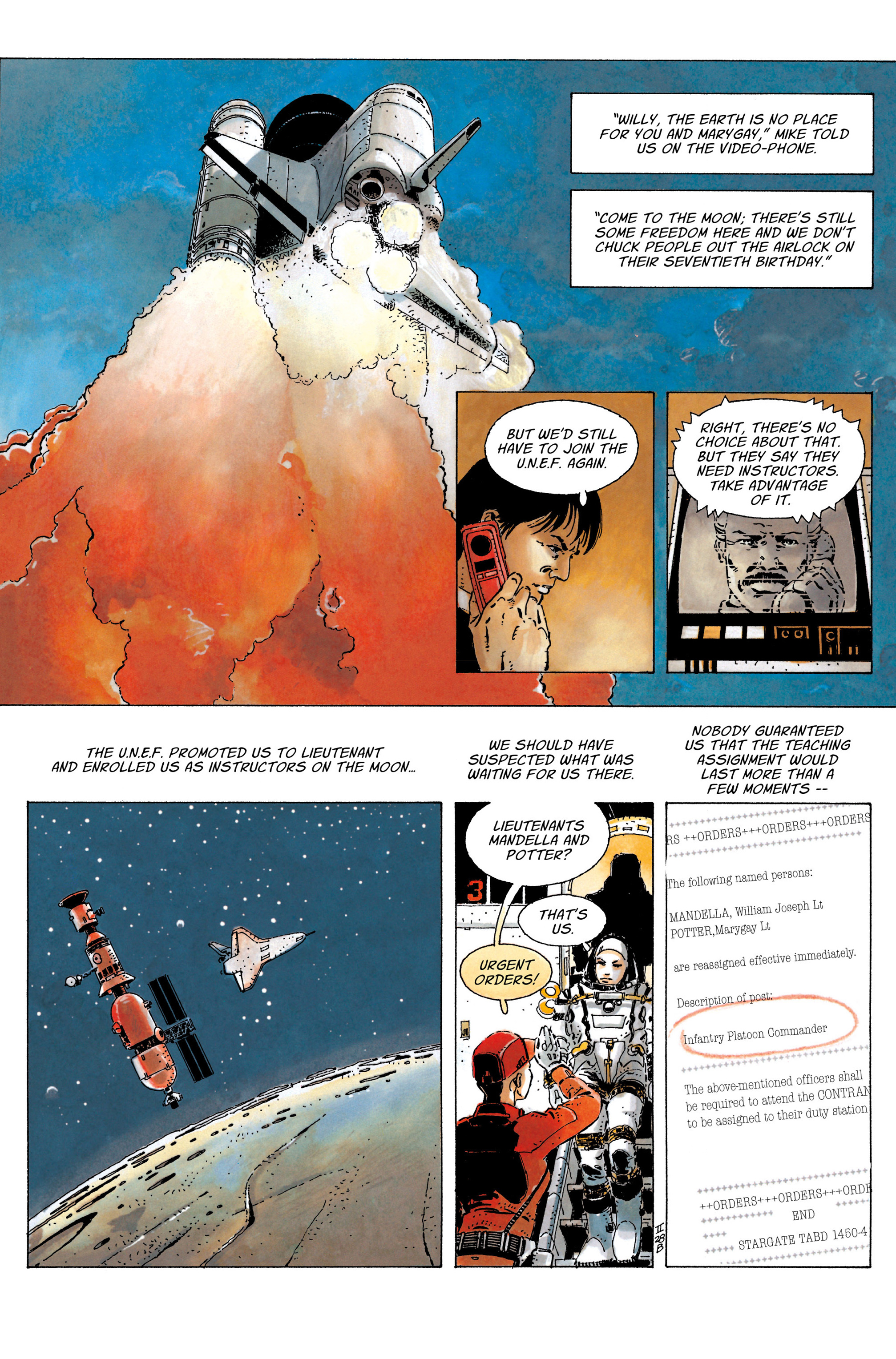 Read online The Forever War (2017) comic -  Issue #4 - 8