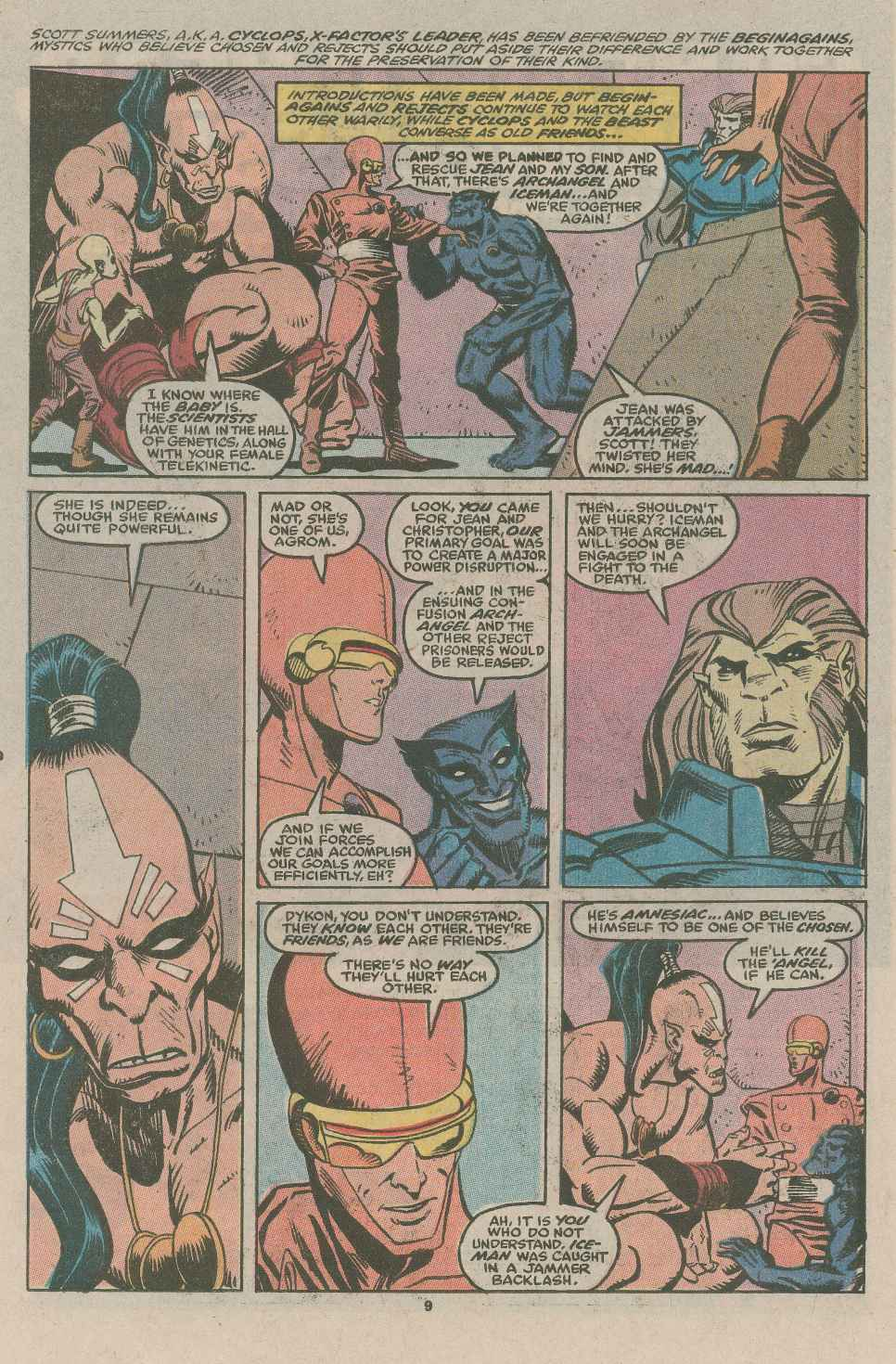 Read online X-Factor (1986) comic -  Issue #49 - 7