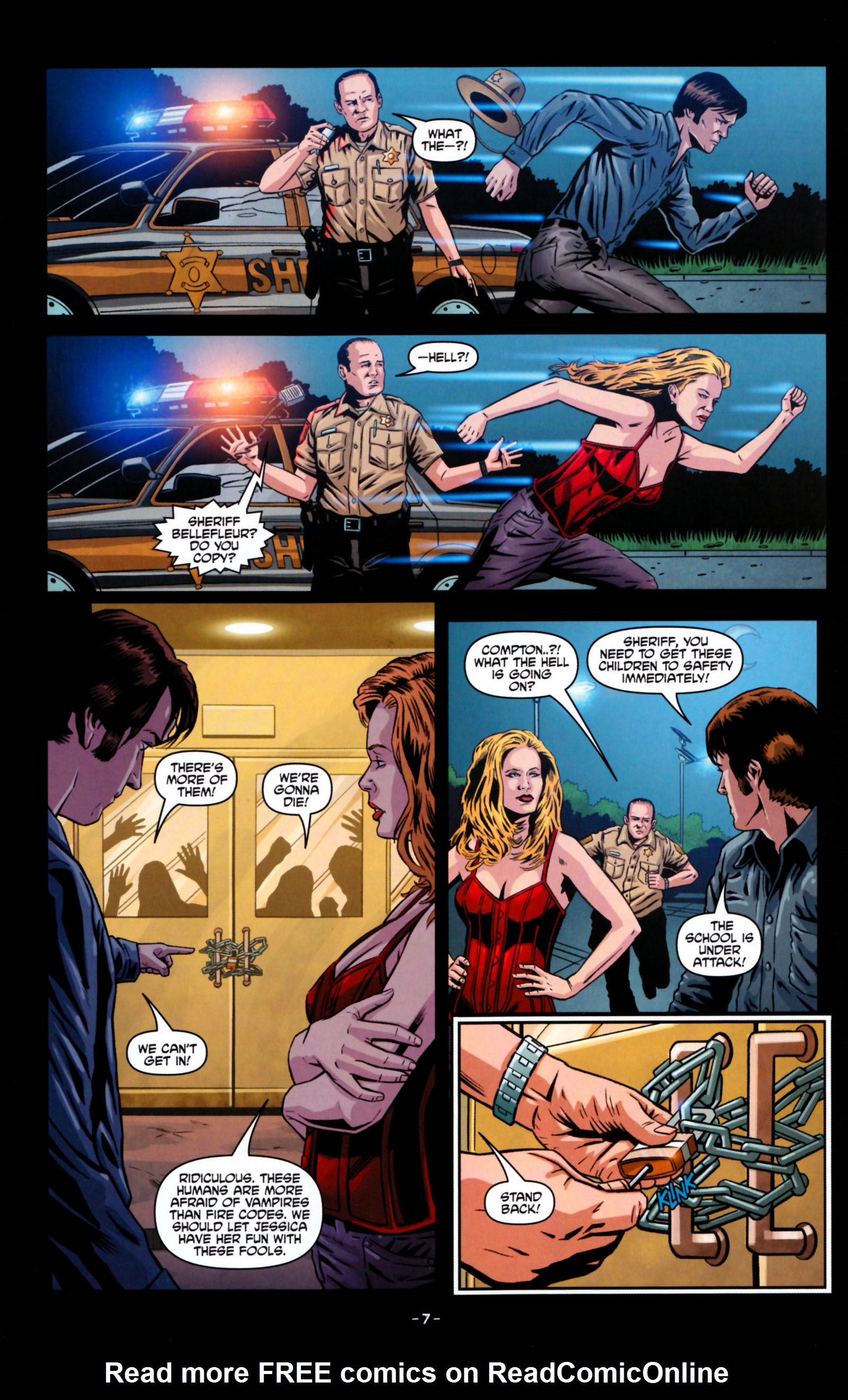 Read online True Blood: Tainted Love comic -  Issue #5 - 10