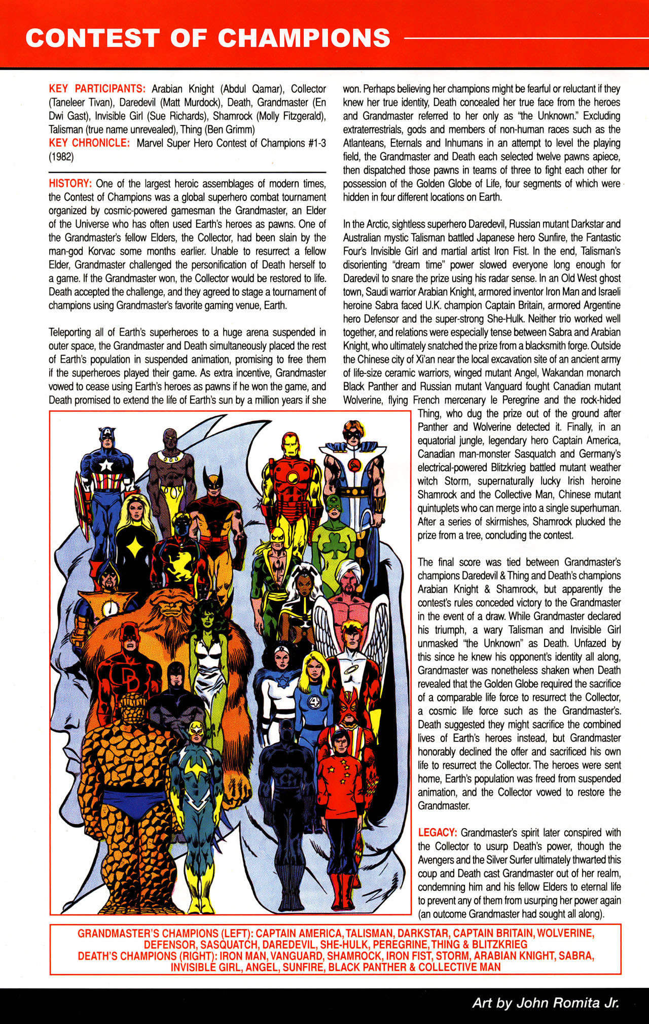 Read online All-New Official Handbook of the Marvel Universe A to Z: Update comic -  Issue #1 - 11