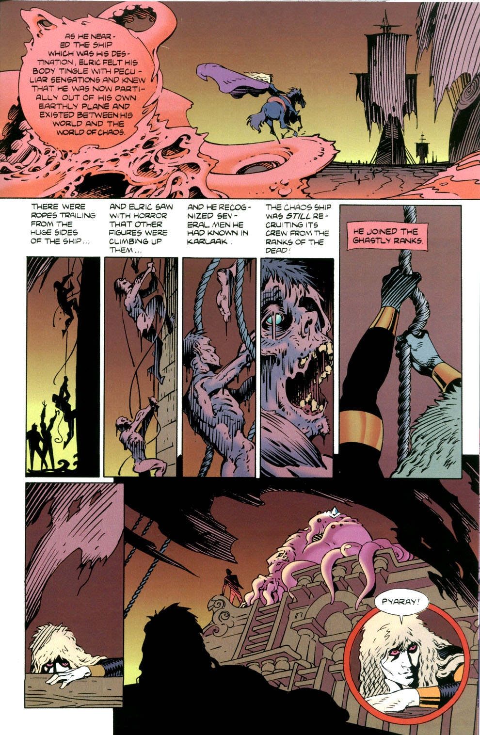 Read online Elric: Stormbringer comic -  Issue #5 - 23