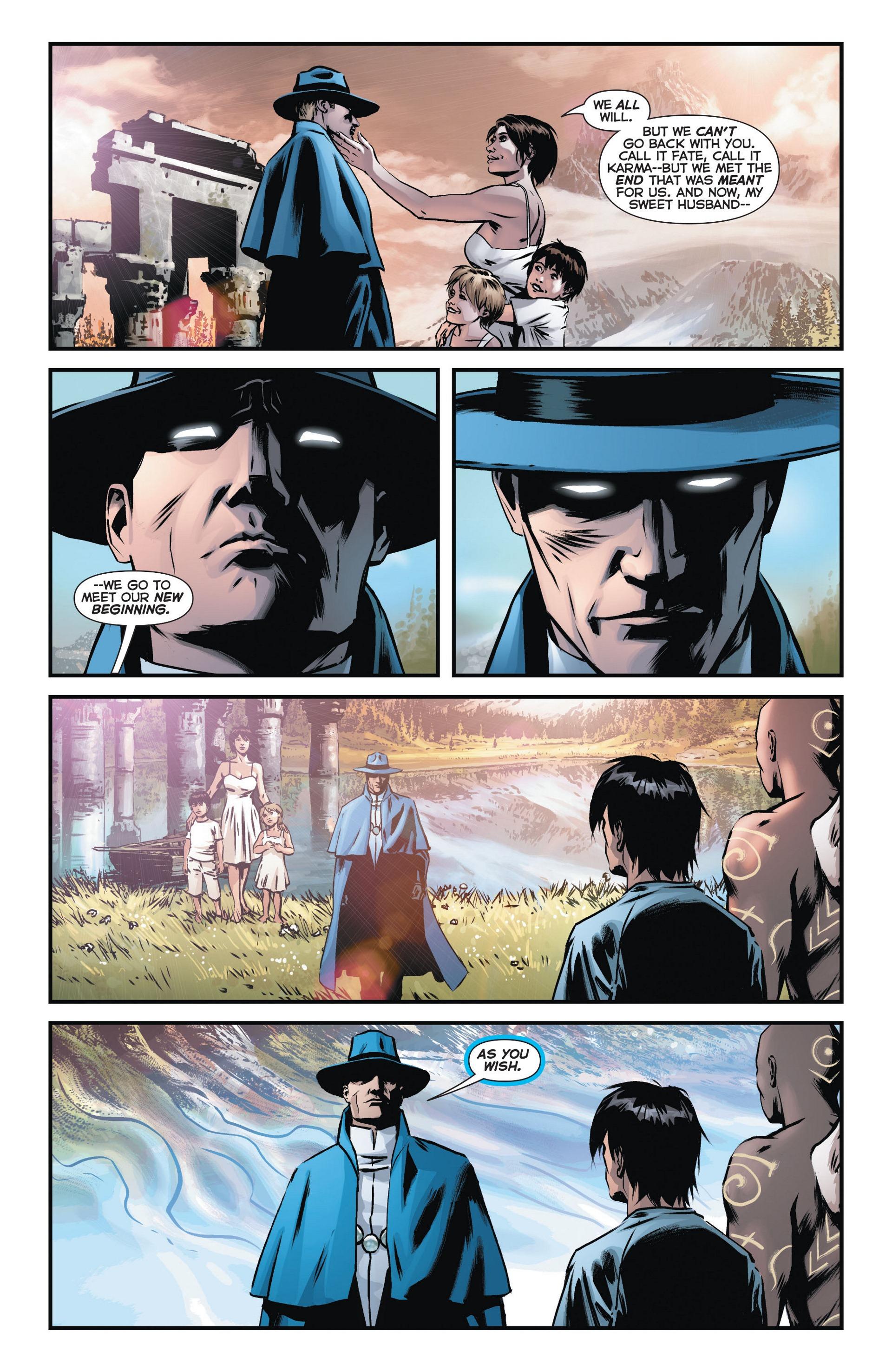 Read online Trinity of Sin: The Phantom Stranger comic -  Issue #10 - 17