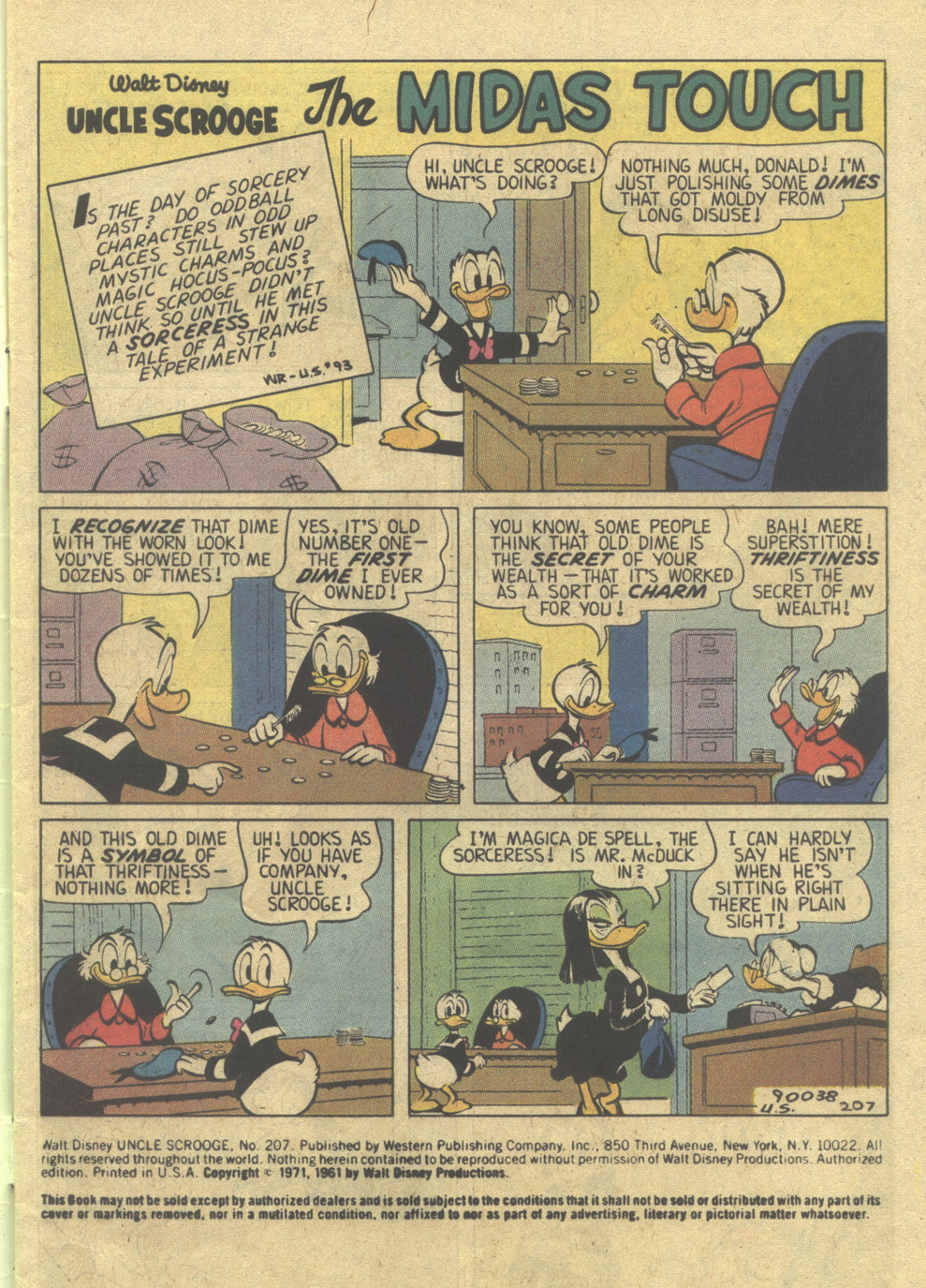 Read online Uncle Scrooge (1953) comic -  Issue #207 - 3