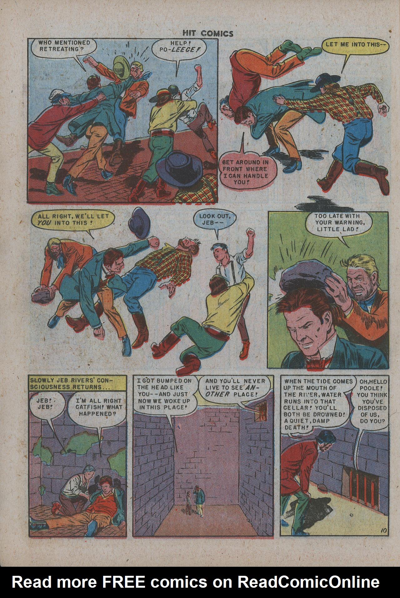 Read online Hit Comics comic -  Issue #63 - 12