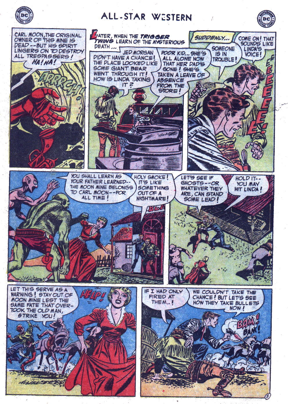 Read online All-Star Western (1951) comic -  Issue #69 - 4