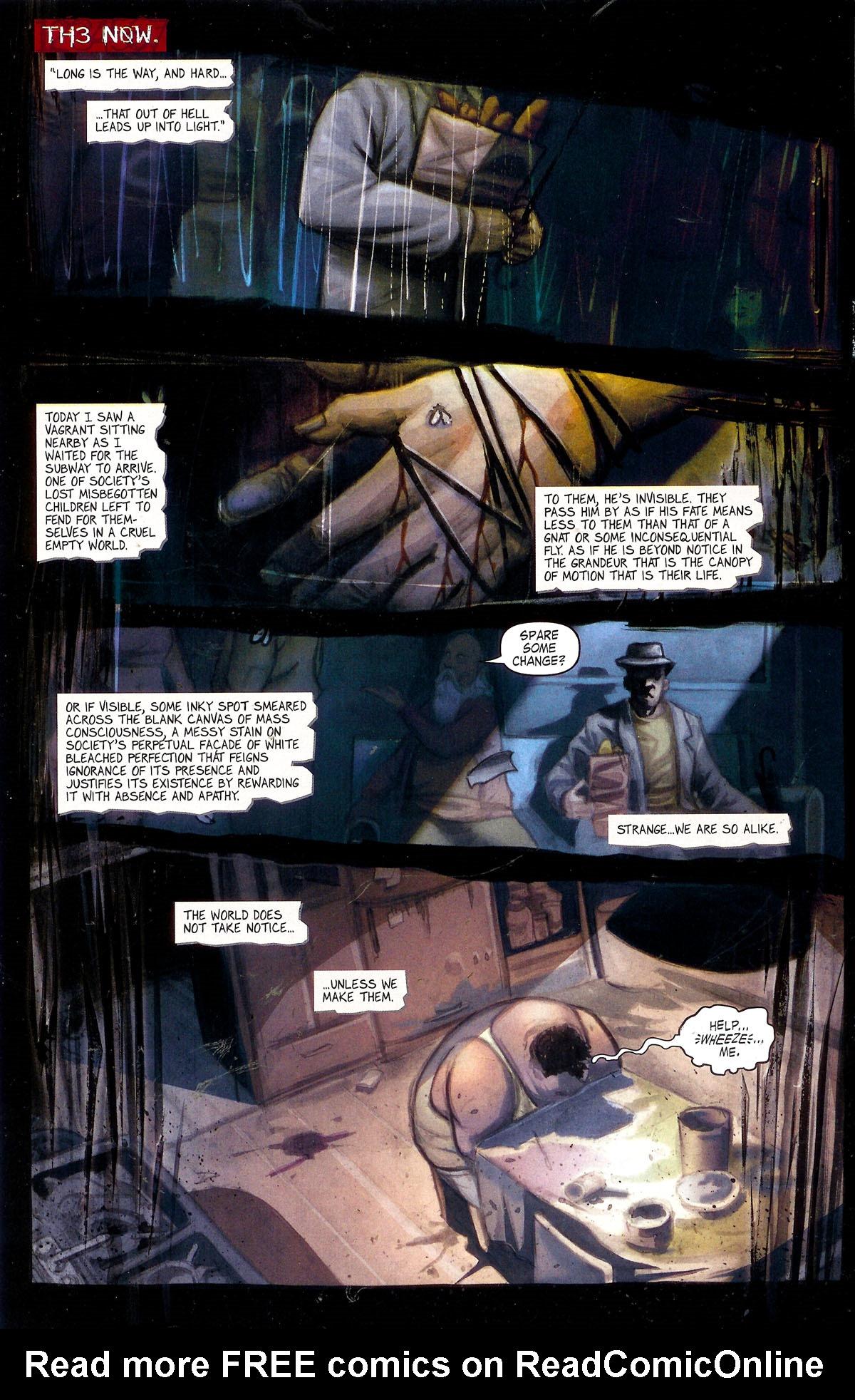 Read online Se7en comic -  Issue #1 - 5