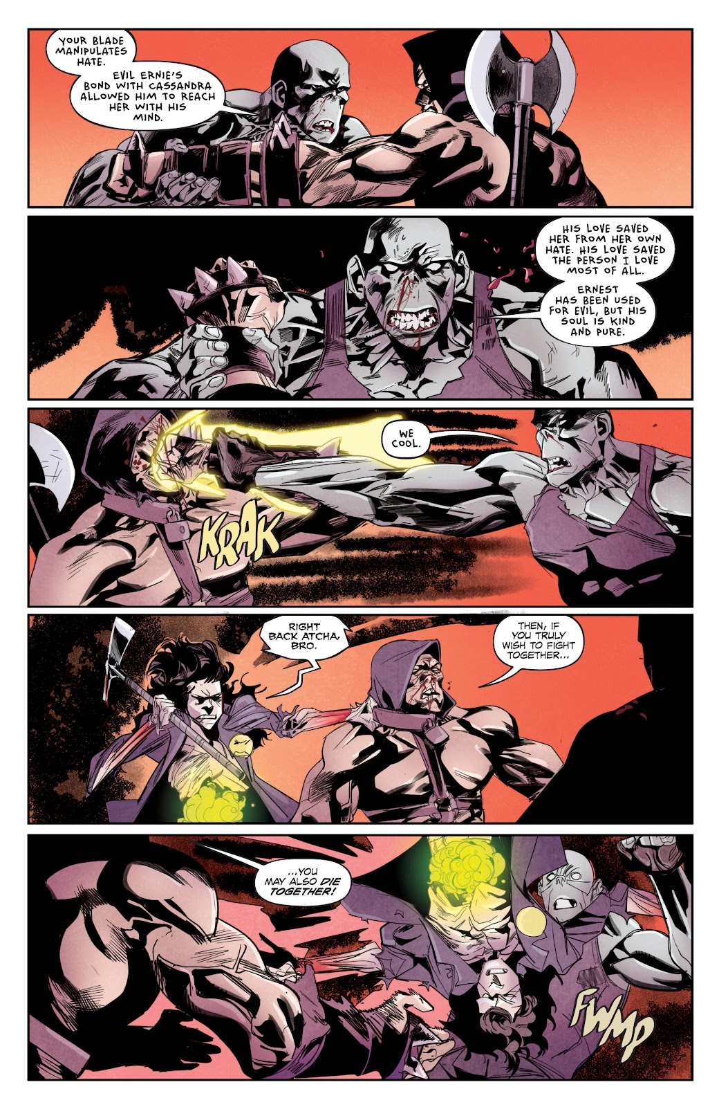 Read online Hack/Slash vs. Chaos comic -  Issue #5 - 11