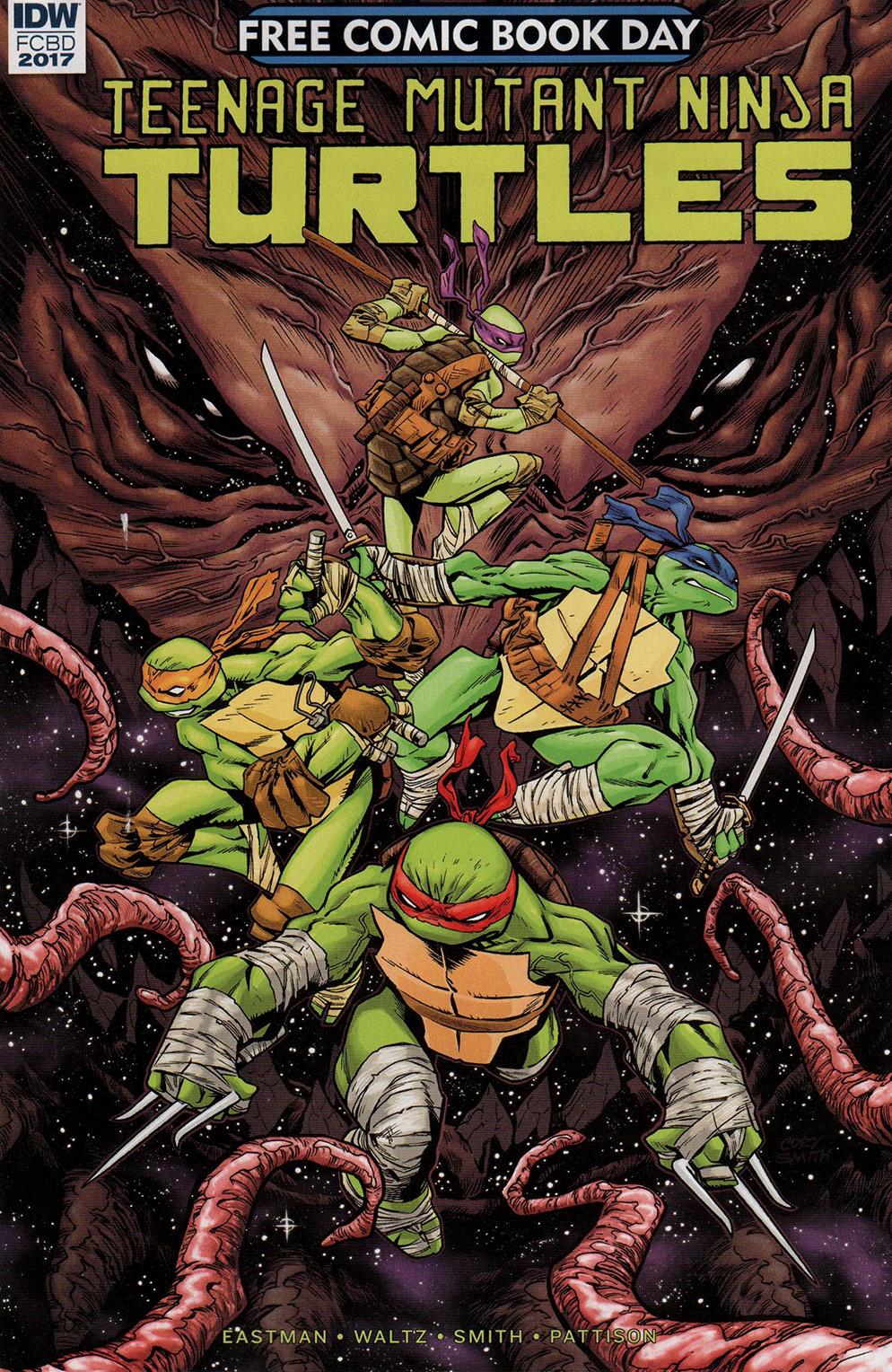 Read online Free Comic Book Day 2017 comic -  Issue # Teenage Mutant Ninja Turtles - 1