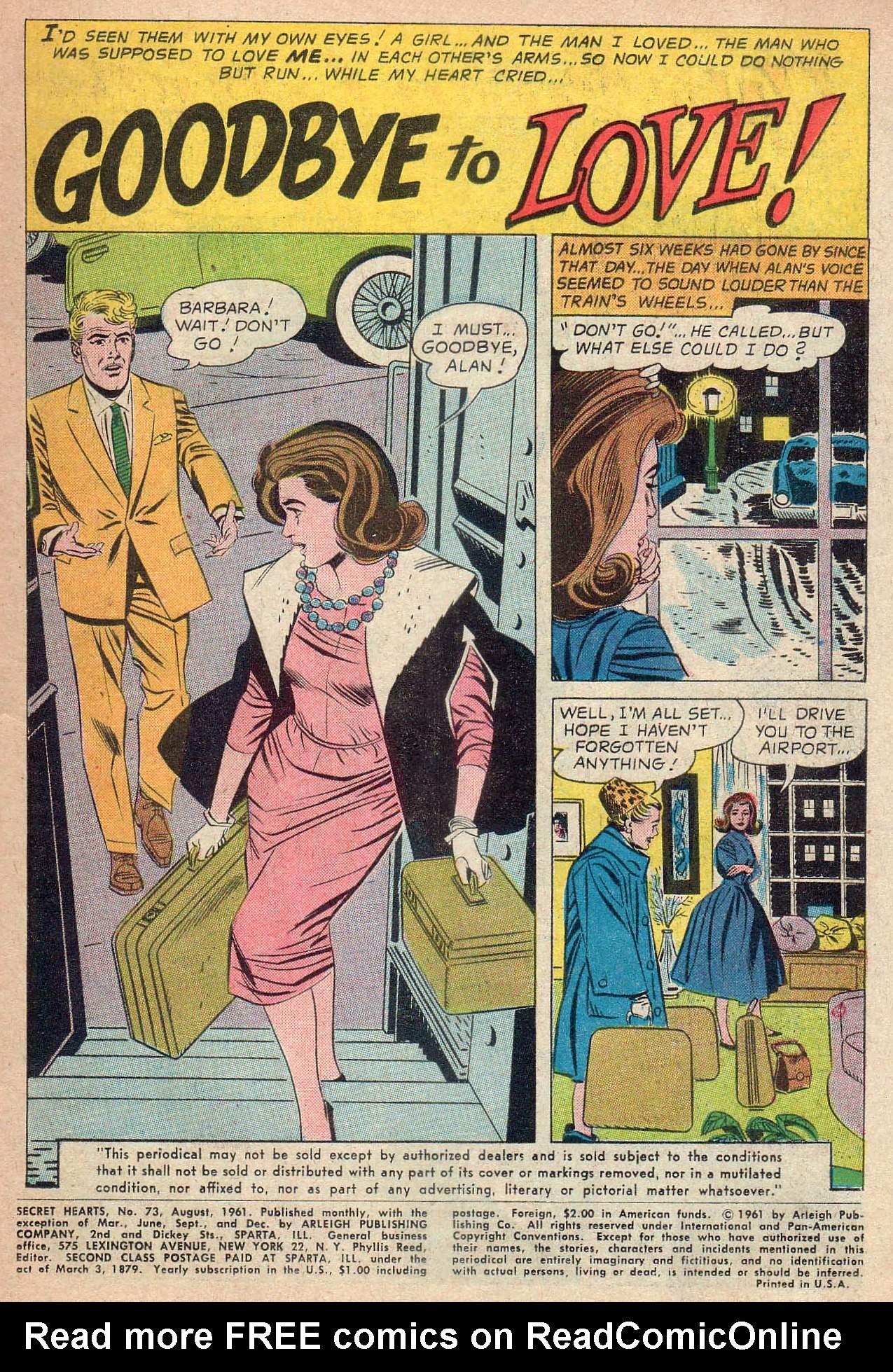 Read online Secret Hearts comic -  Issue #73 - 3