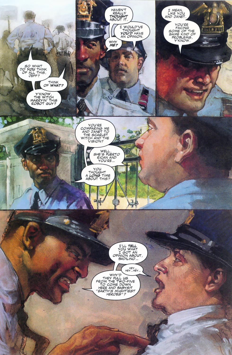 Read online Code of Honor comic -  Issue #2 - 8