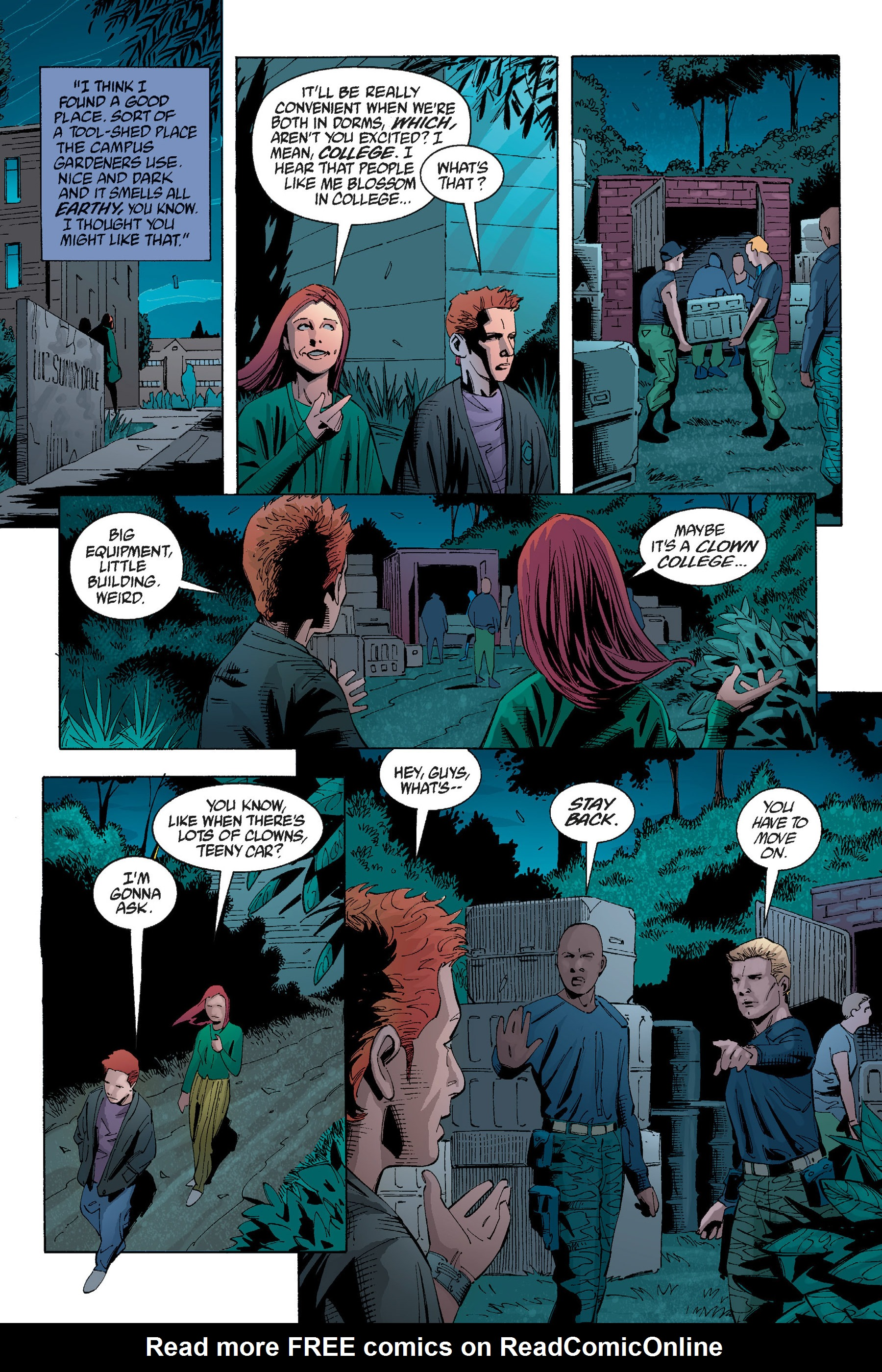 Read online Buffy the Vampire Slayer: Omnibus comic -  Issue # TPB 5 - 44