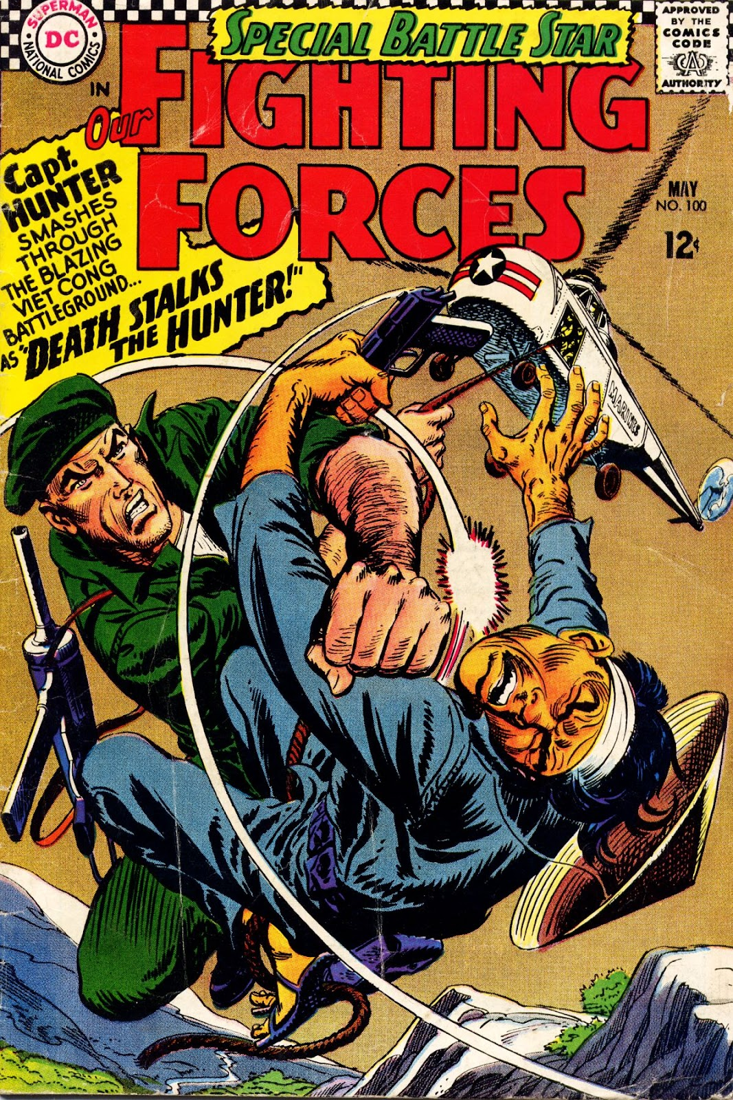 Our Fighting Forces (1954) issue 100 - Page 1