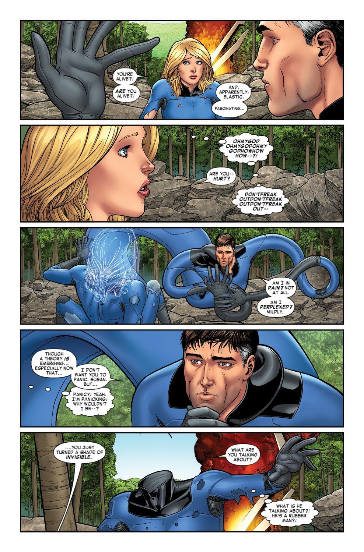 Read online Fantastic Four: Season One comic -  Issue # TPB - 21
