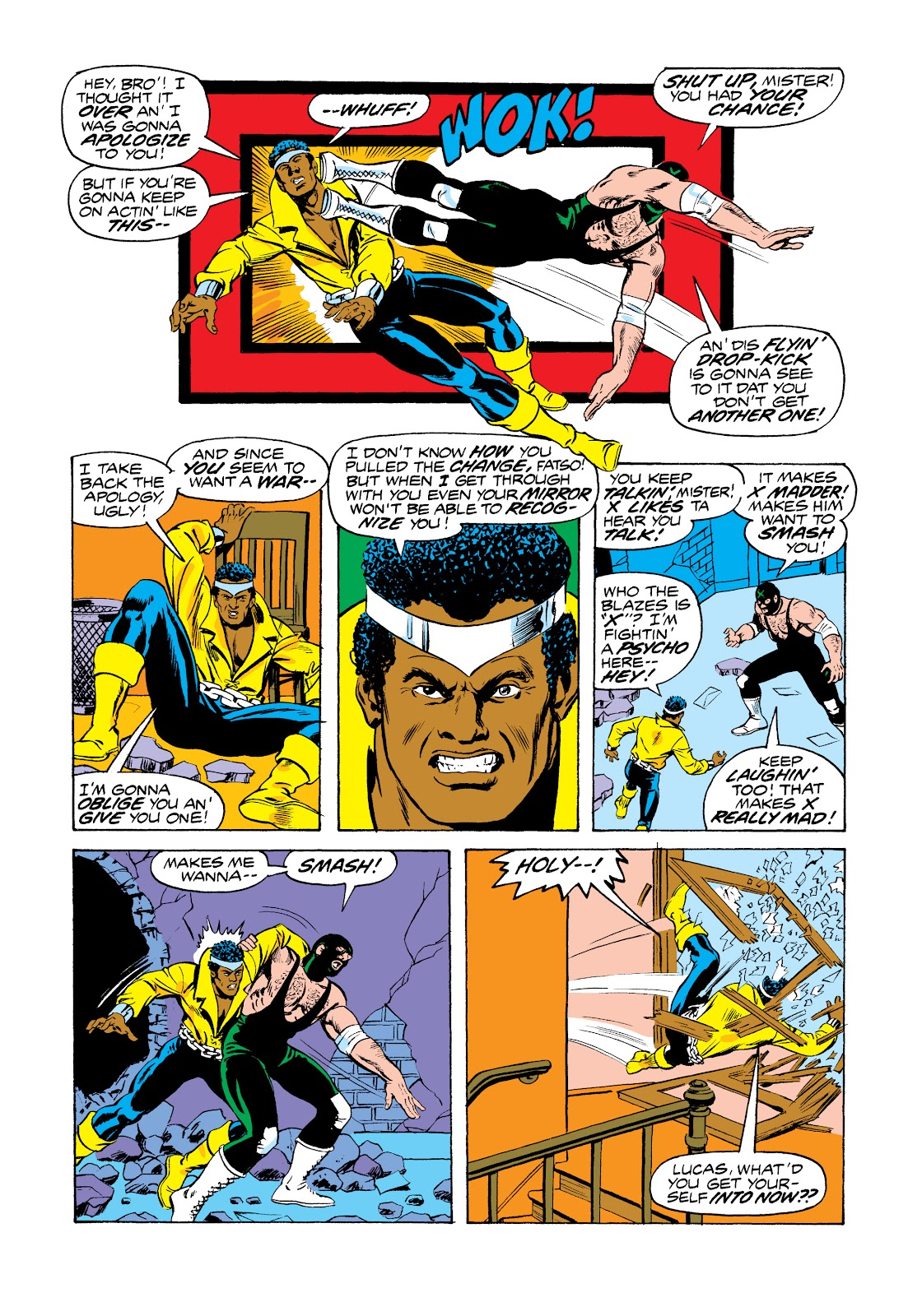 Read online Marvel Masterworks: Luke Cage, Power Man comic -  Issue # TPB 2 (Part 3) - 11