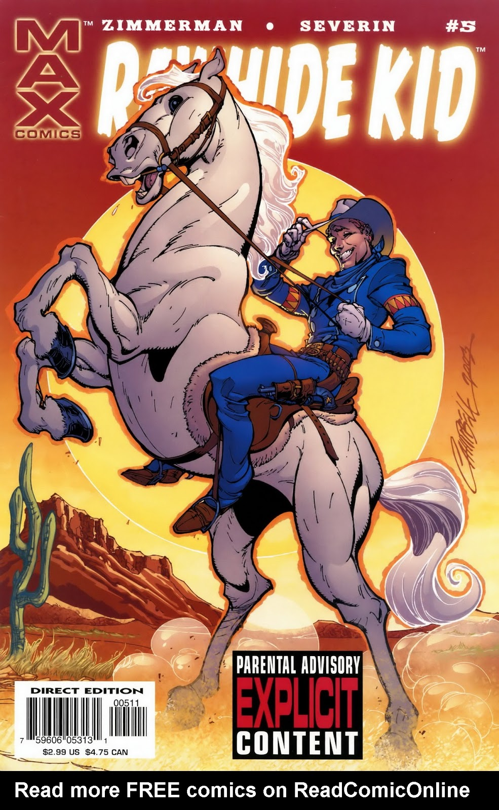 Rawhide Kid (2003) issue 5 - Page 1