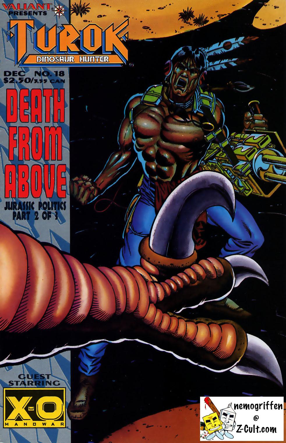 Read online Turok, Dinosaur Hunter (1993) comic -  Issue #18 - 1