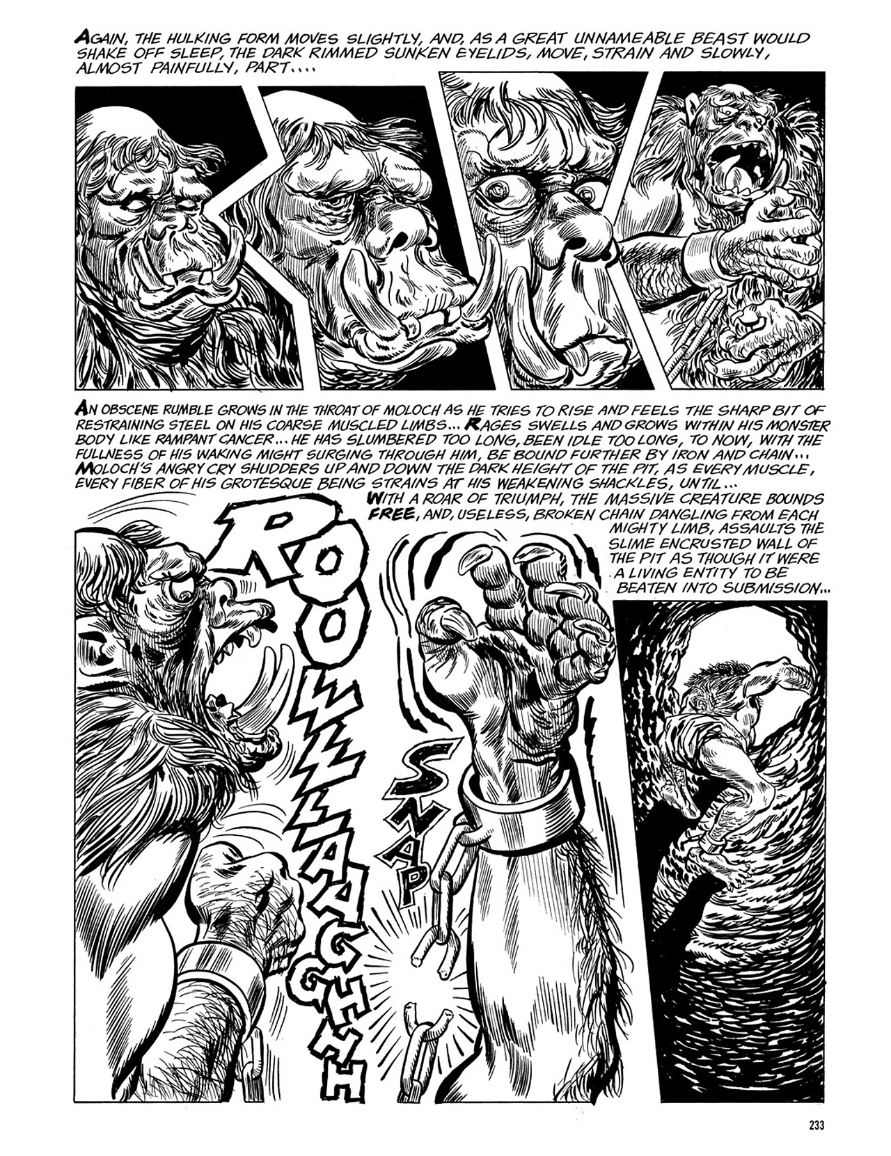 Read online Eerie Archives comic -  Issue # TPB 3 - 234