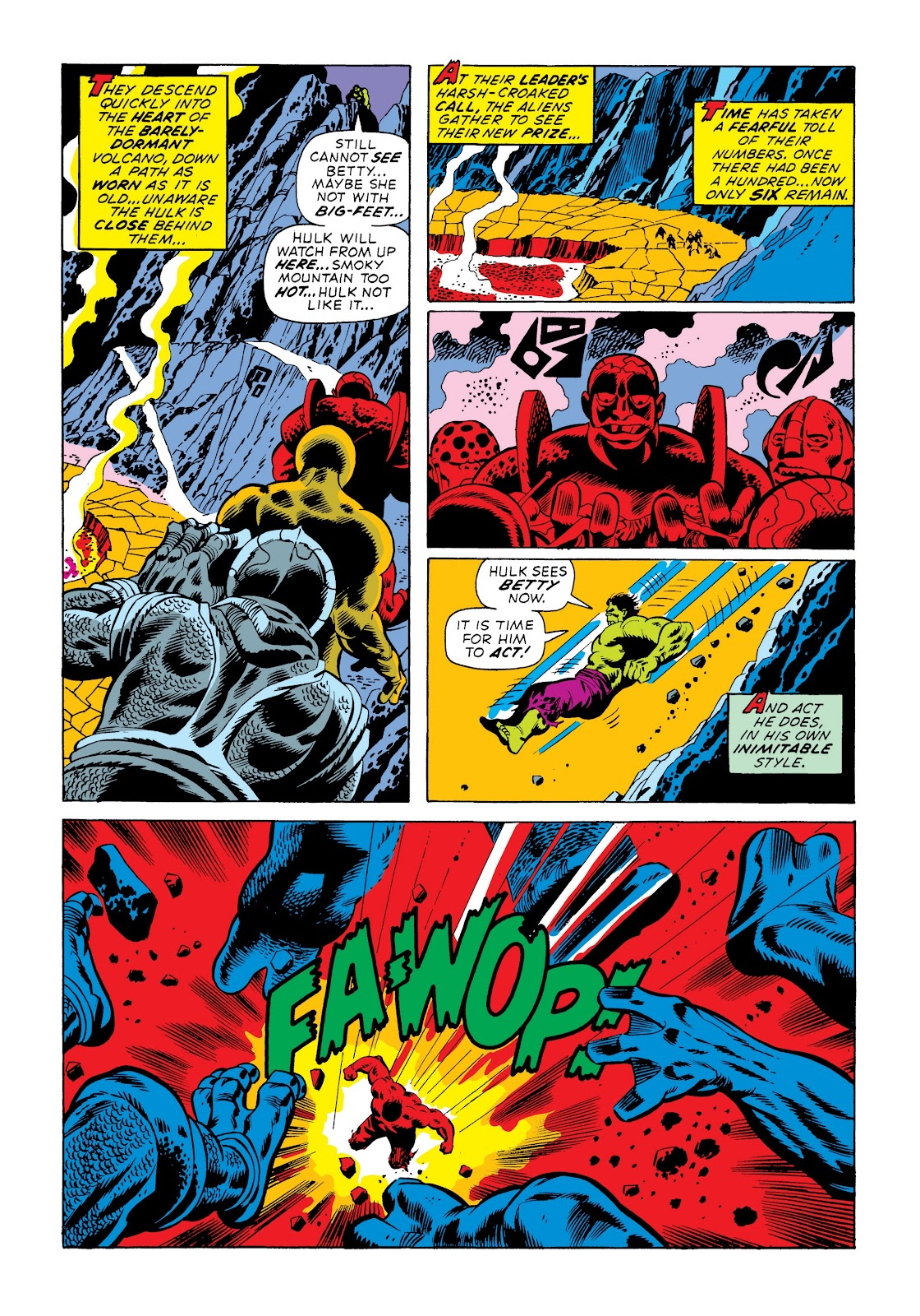 Read online Marvel Masterworks: The Incredible Hulk comic -  Issue # TPB 9 (Part 3) - 93