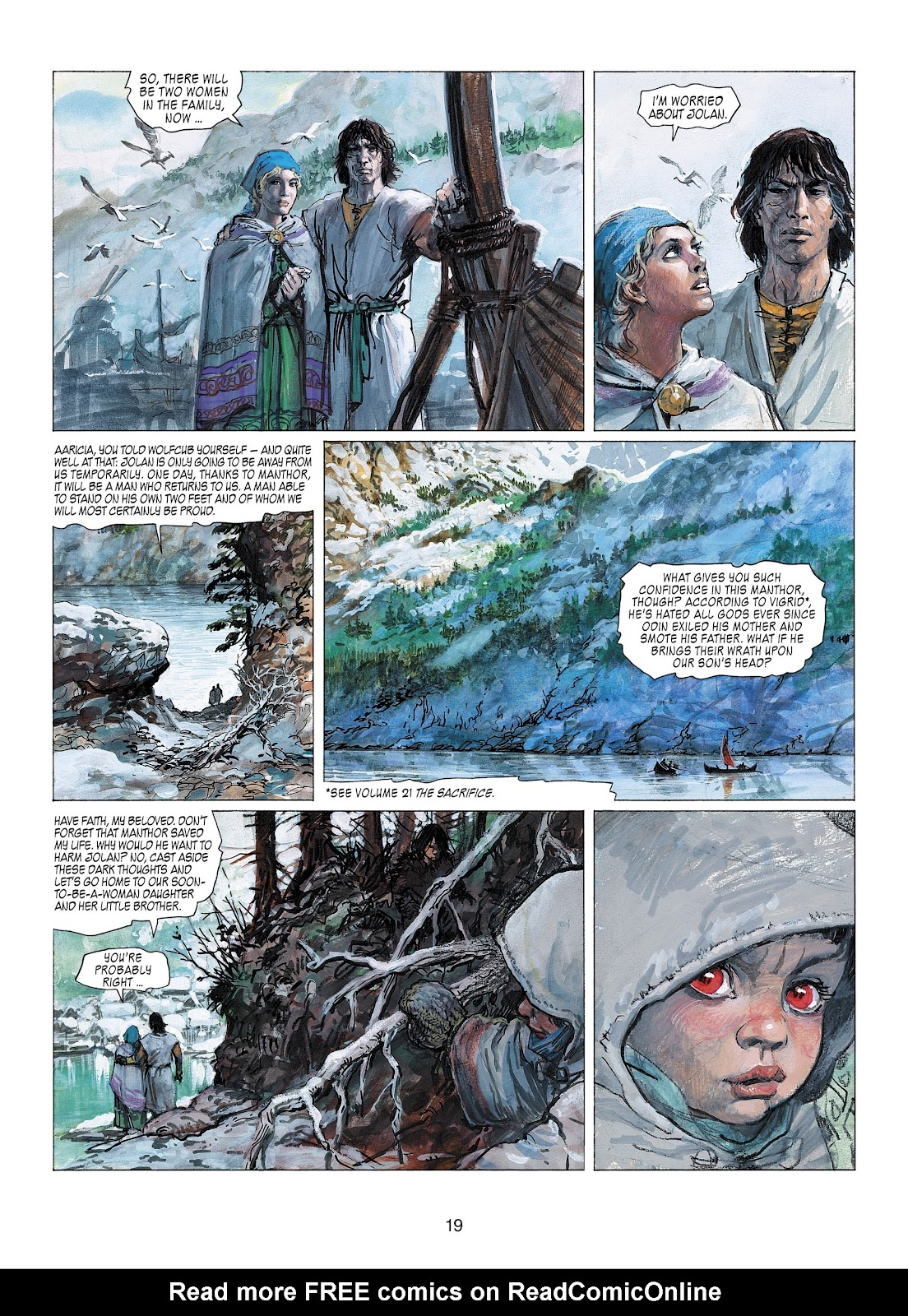 Read online Thorgal comic -  Issue #22 - 21