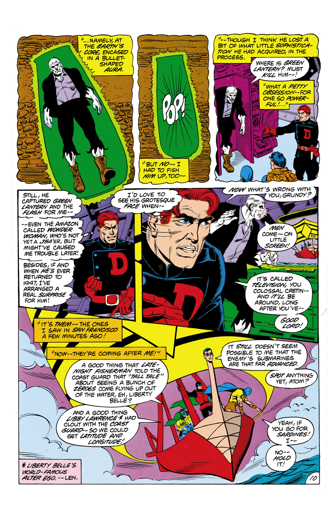Read online All-Star Squadron comic -  Issue #3 - 11