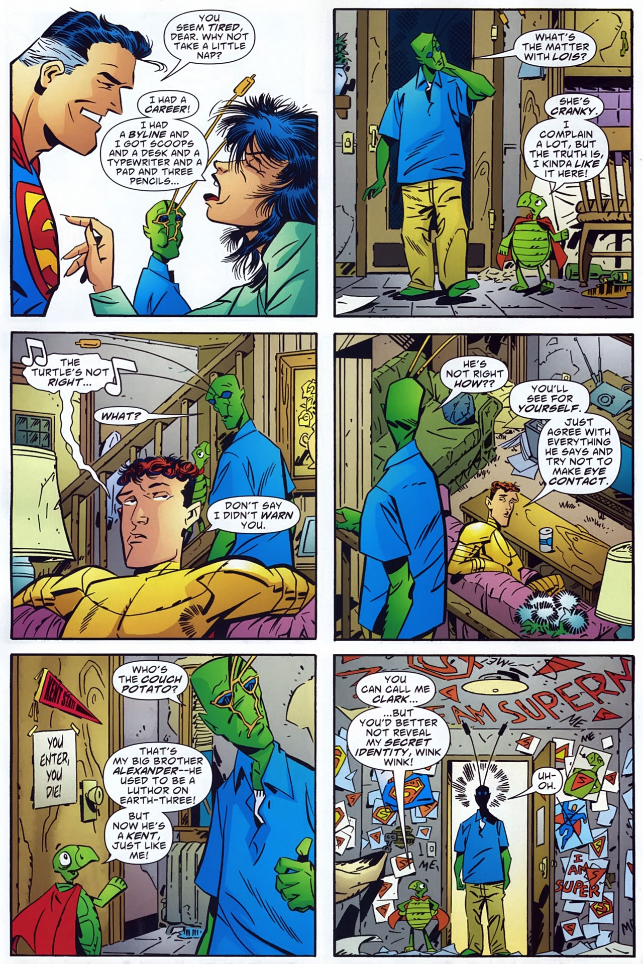 Read online Ambush Bug: Year None comic -  Issue #3 - 10
