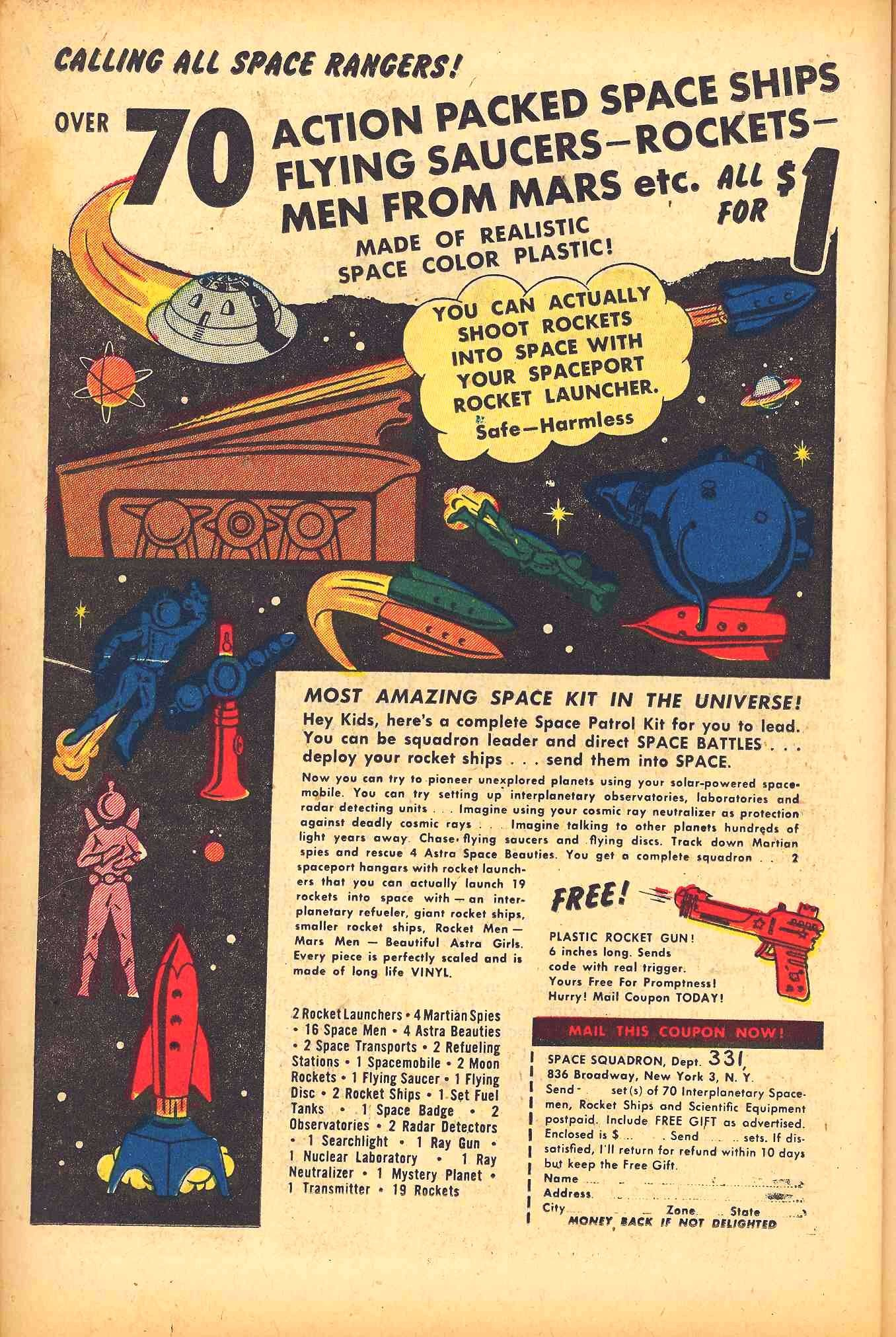 Weird Mysteries (1952) issue 6 - Page 22